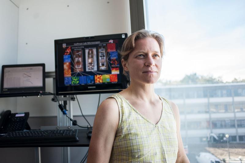 Our Campus: Fresh from Harvard, hotshot prof Jenny Hoffman adjusts