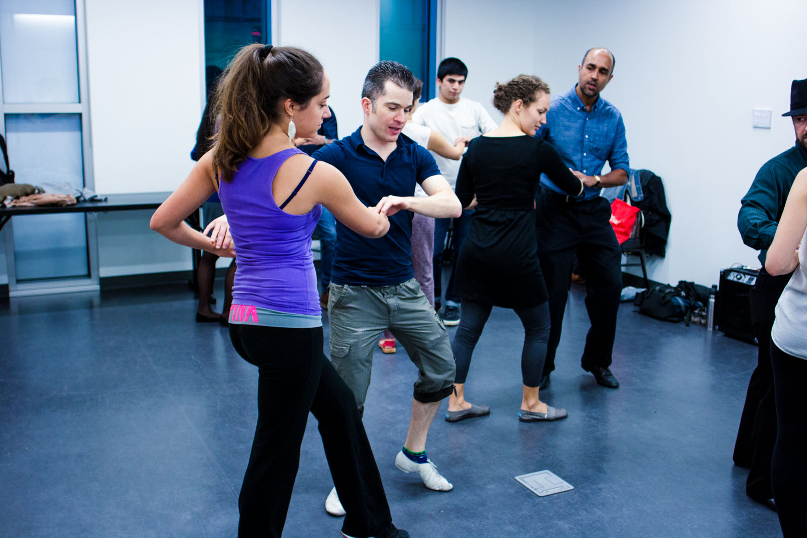 The Latin Dance Clubs teaches salsa, merengue, bachata and the Argentine tango.