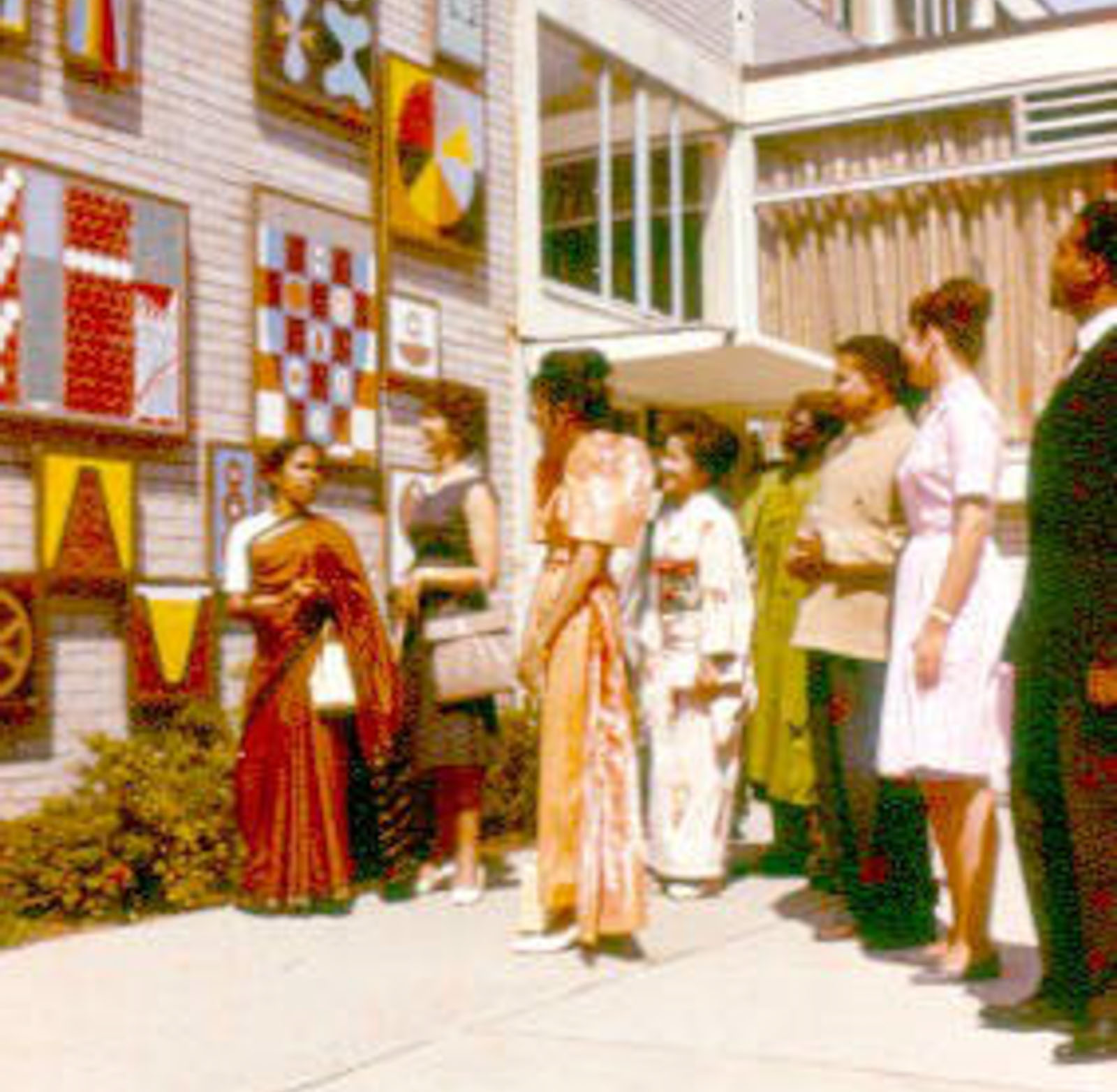Students in international dress 1963