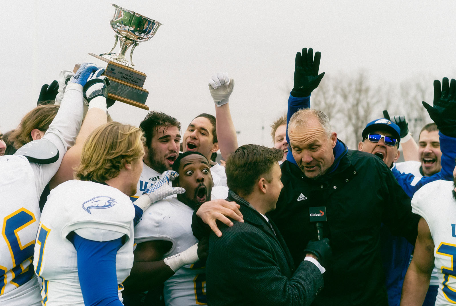 Nill led the 'Birds to a Vanier Cup victory in his first year as head coach.
