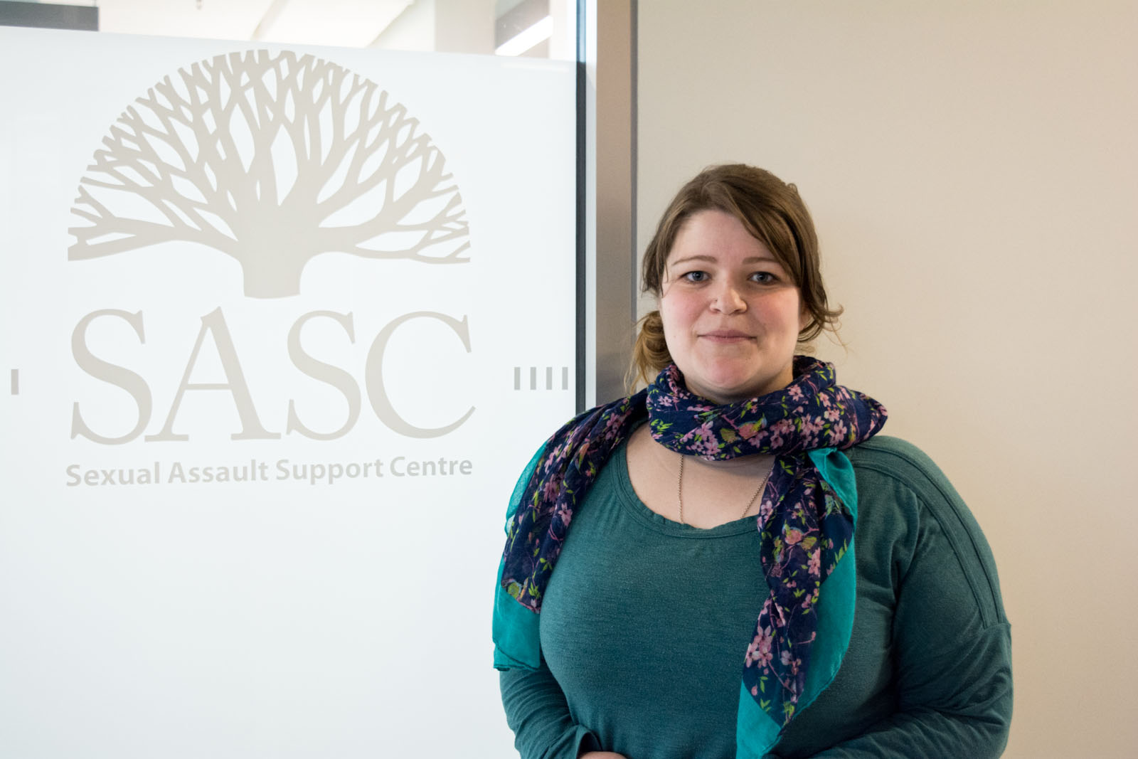 Josey Ross, assistant manager of SASC, hopes this year's SAAM will encourage more people to join the conversation about sexual assault.