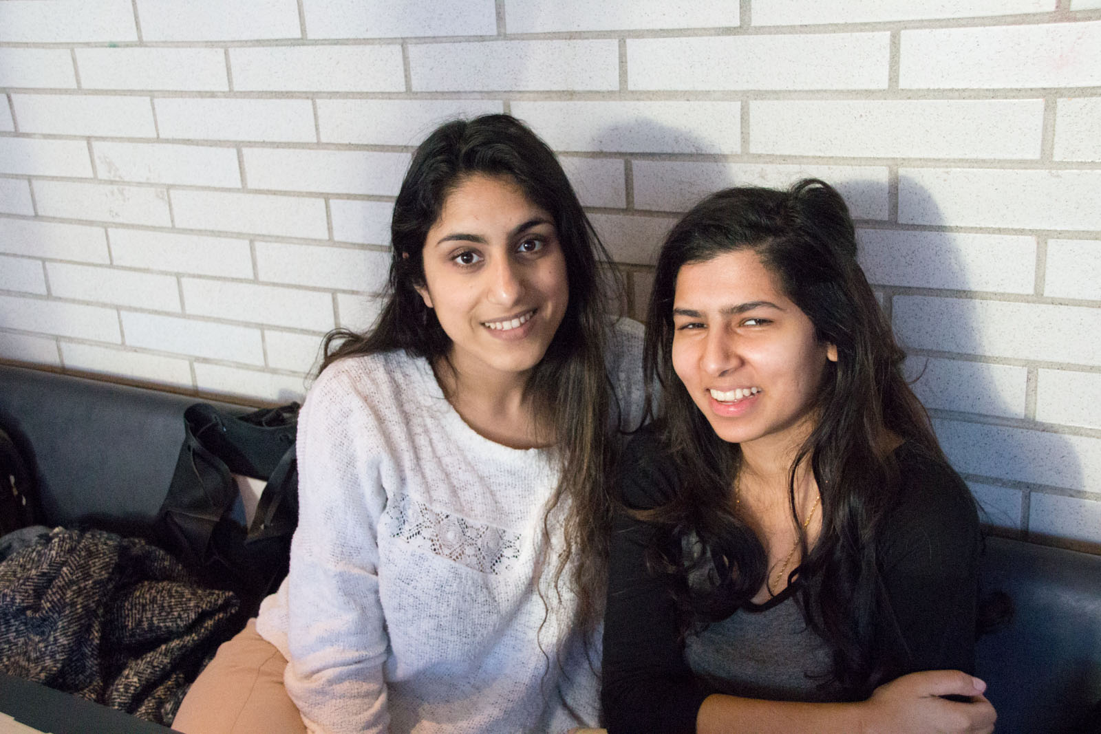 Harminder Atwal (left) and Priya Thind (right).