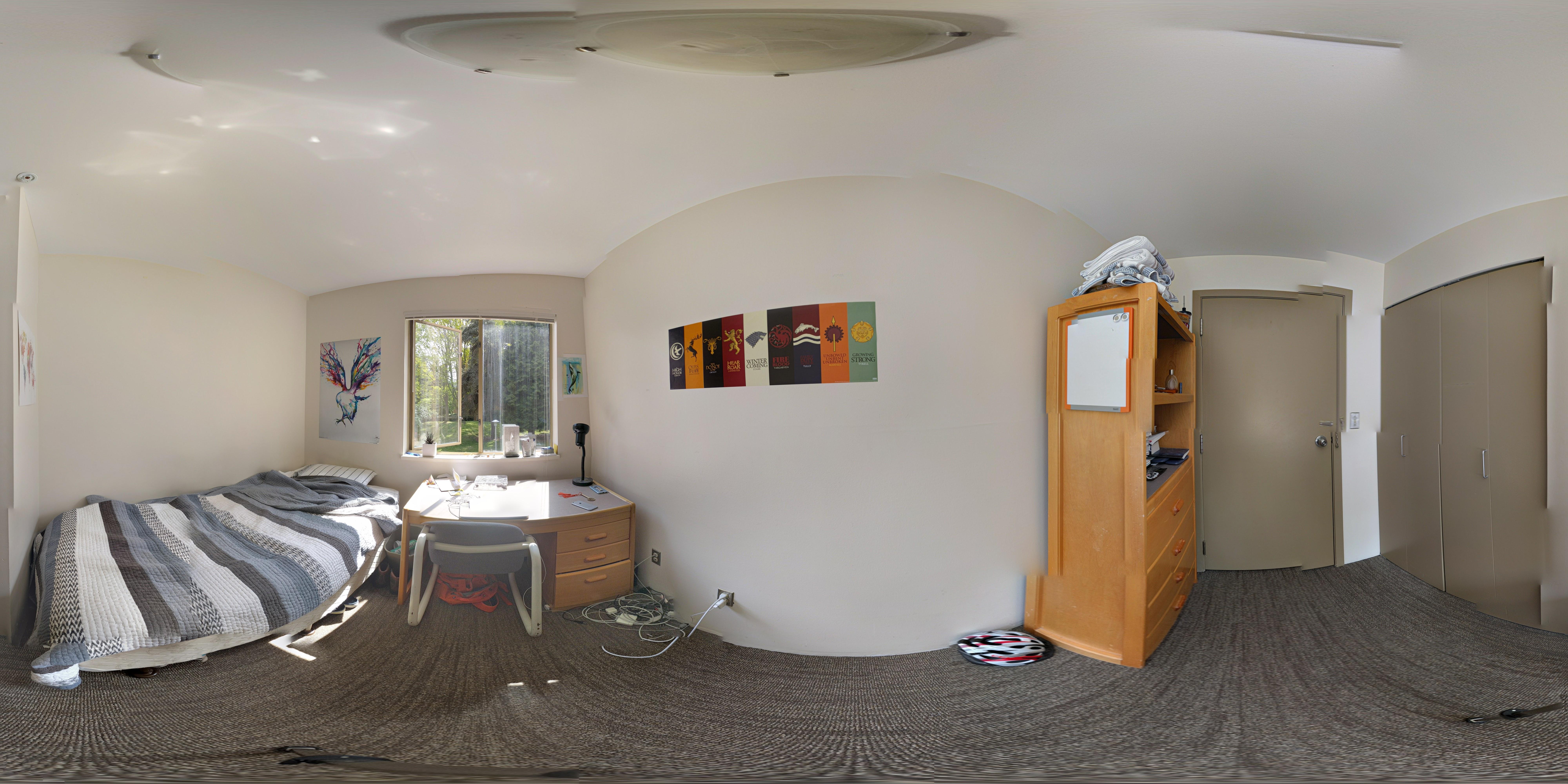 Ritsumeikan residence room.