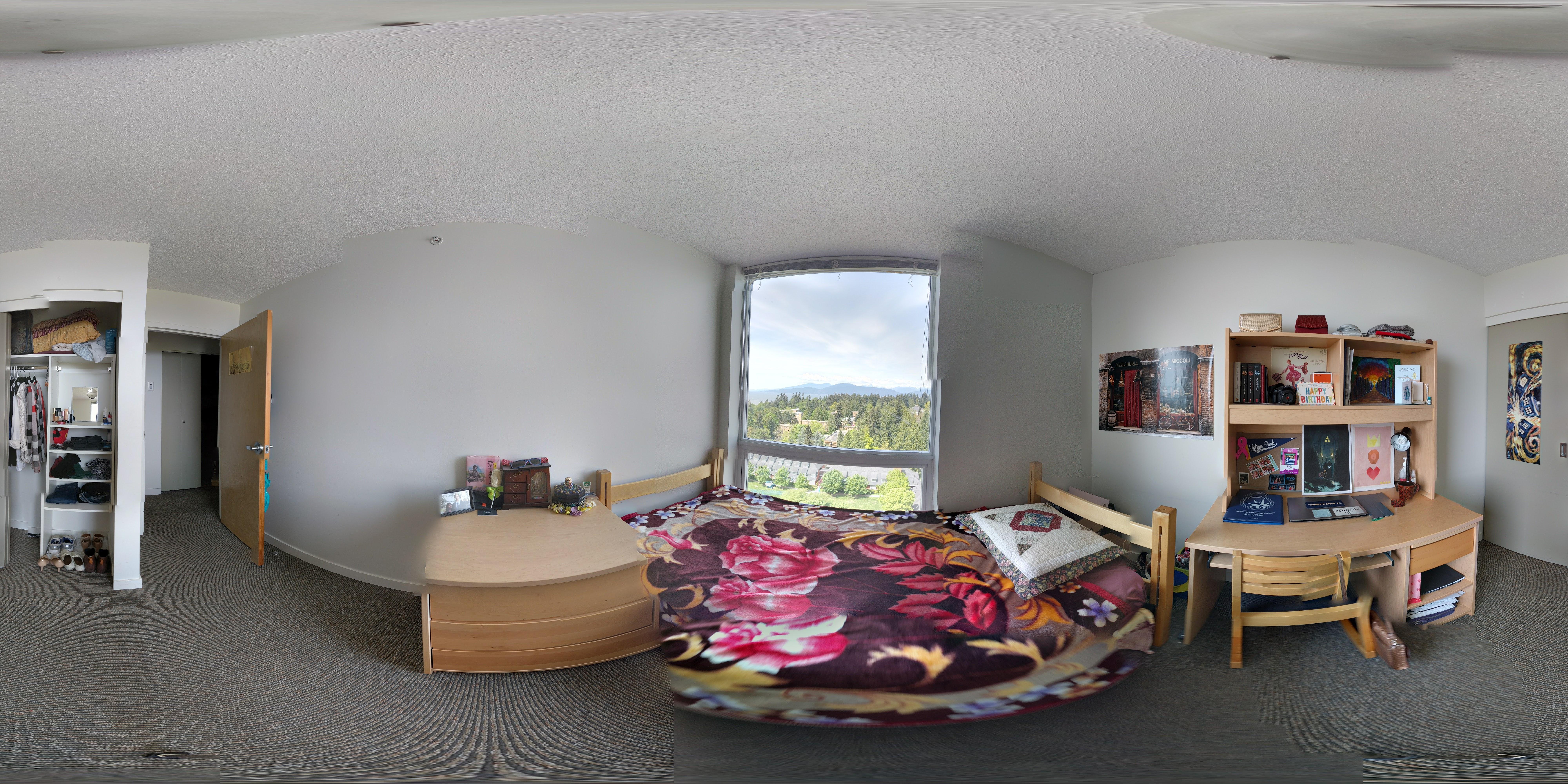 Marine Drive residence room.