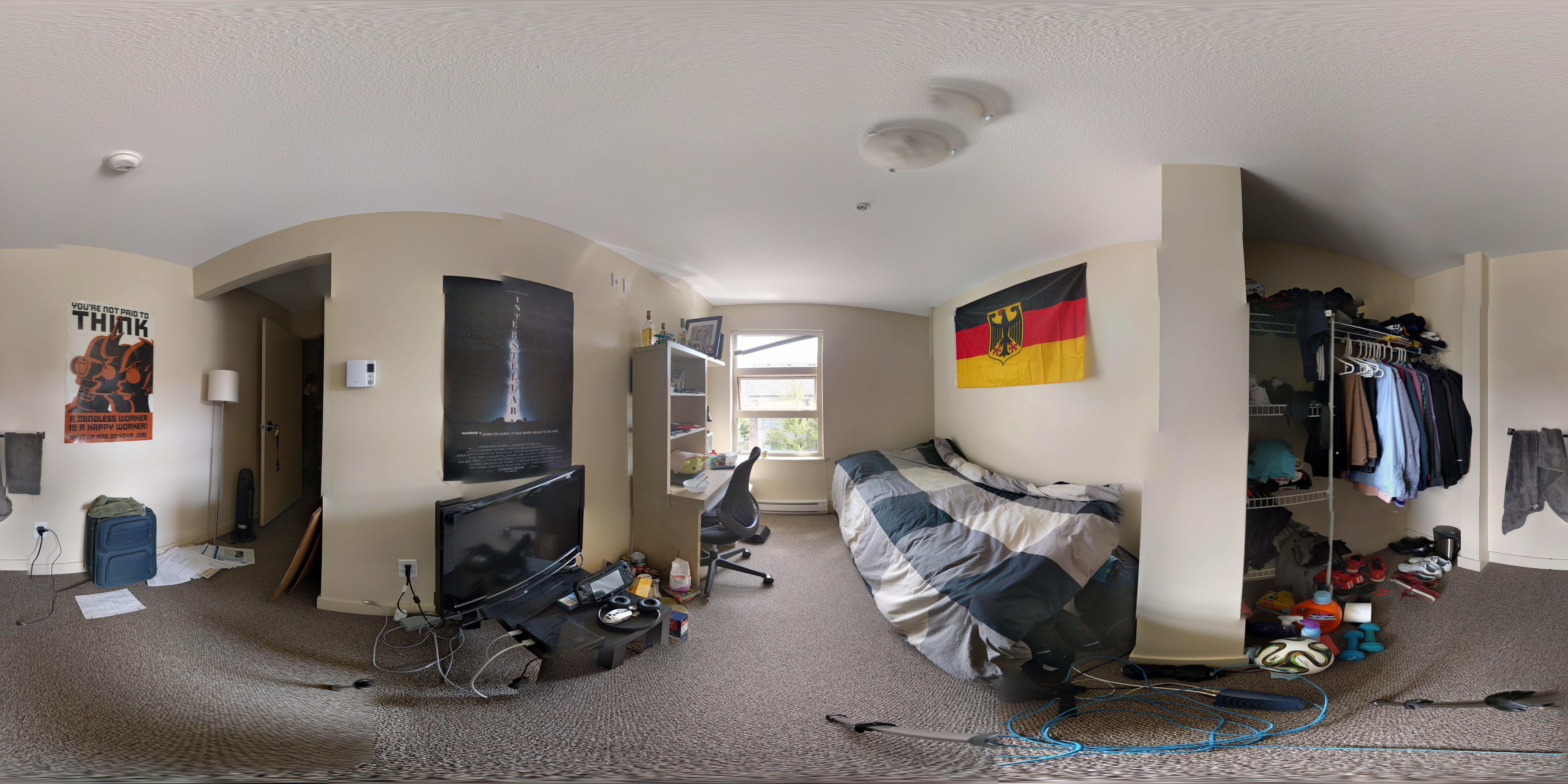 Fraser Hall residence room