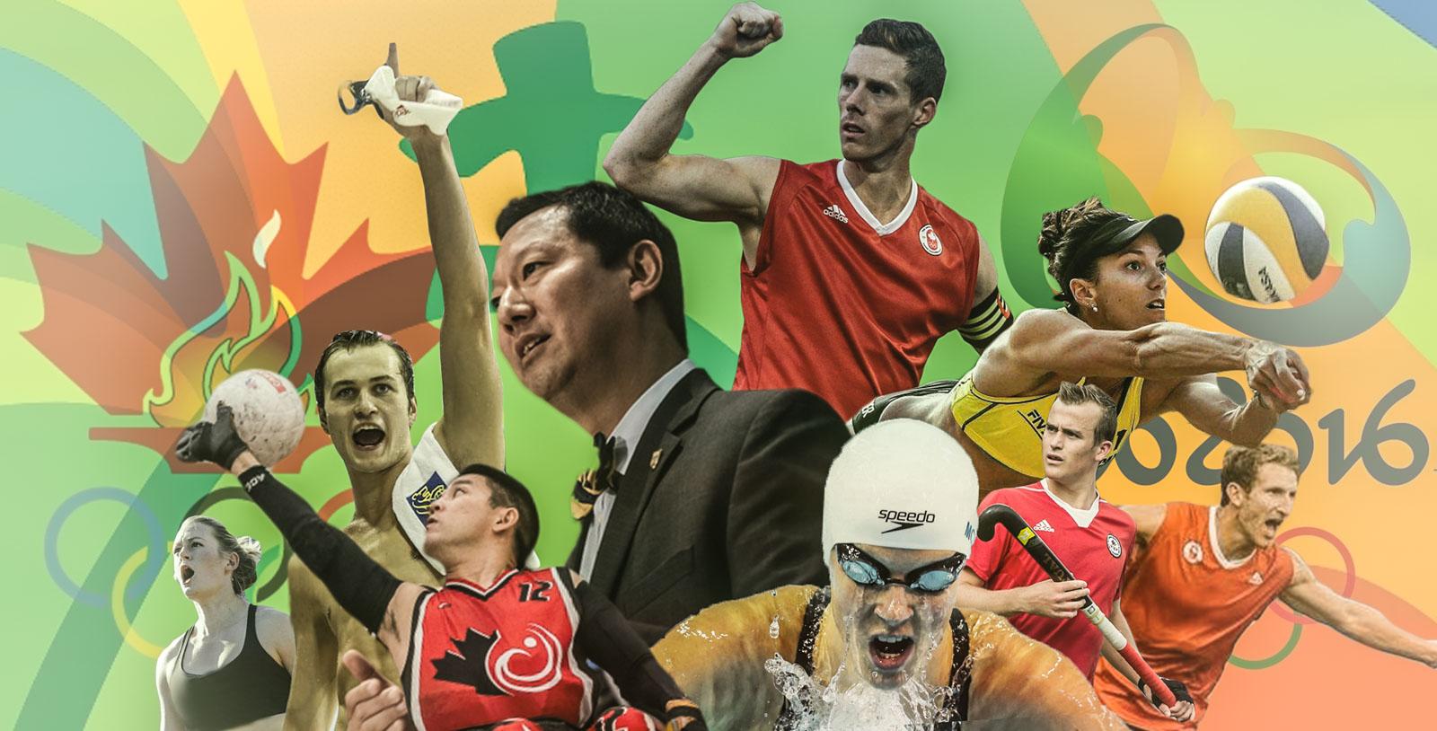 UBC student-athletes made their presence felt at Rio de Janeiro this summer.
