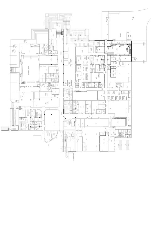 A copy of the AMS's basement plans.
