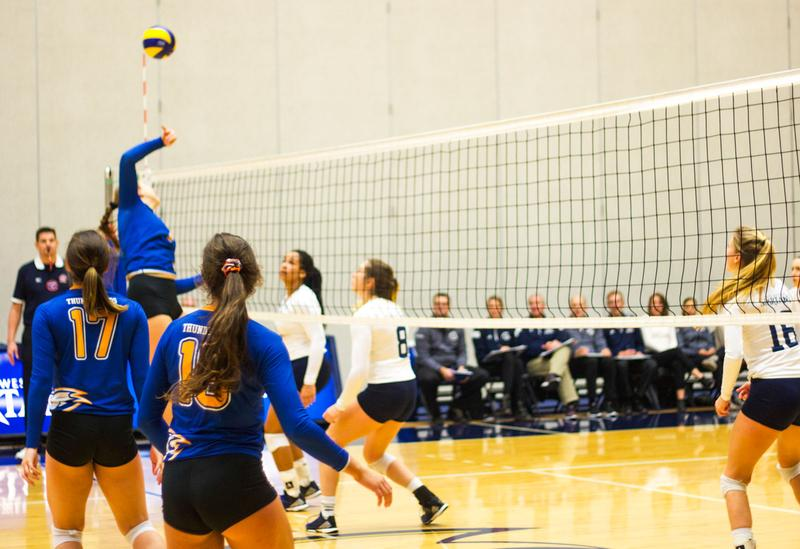 Women's volleyball falls to Spartans over weekend