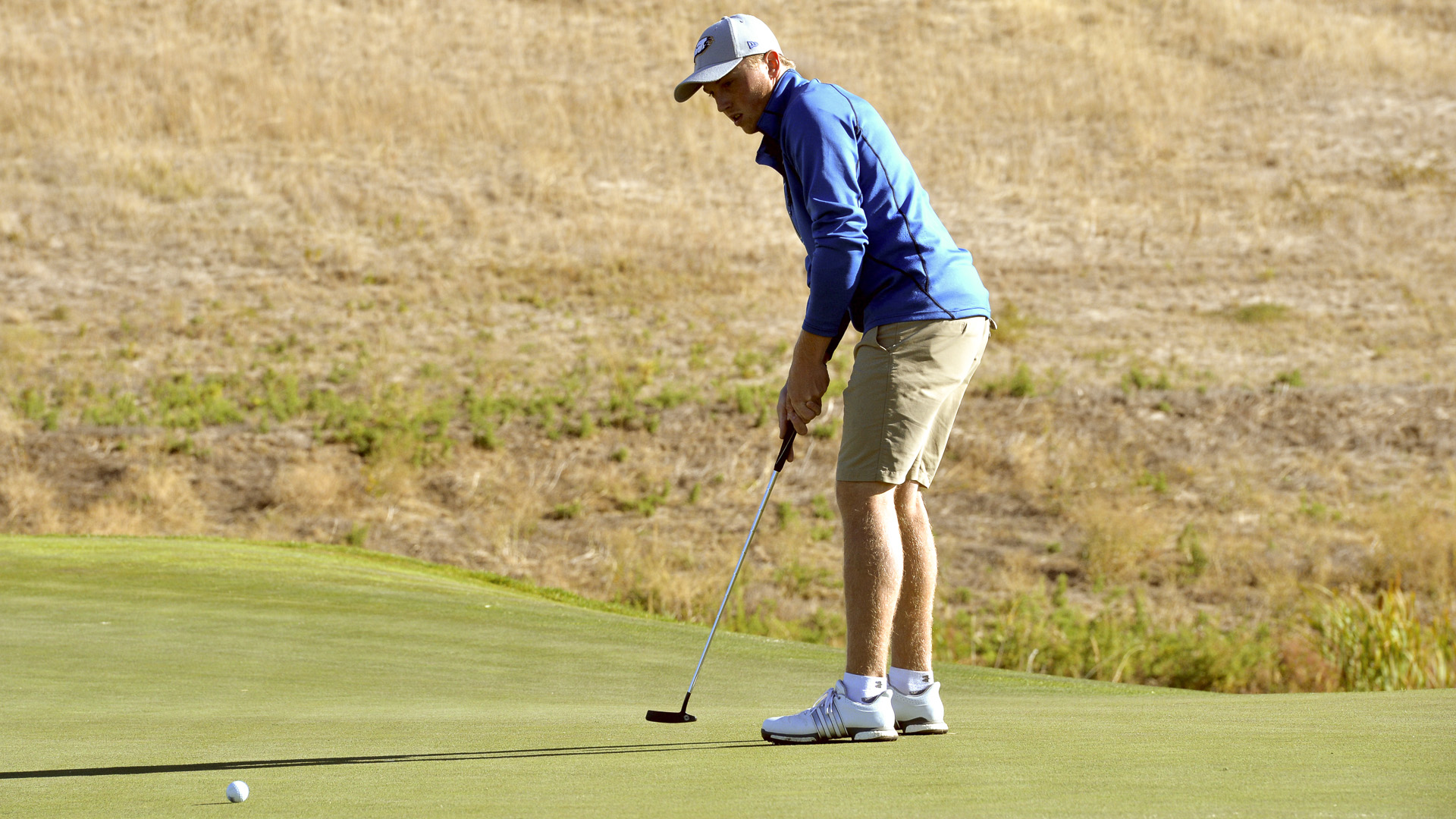 Harrison has been a highlight for the men's golf team this season.