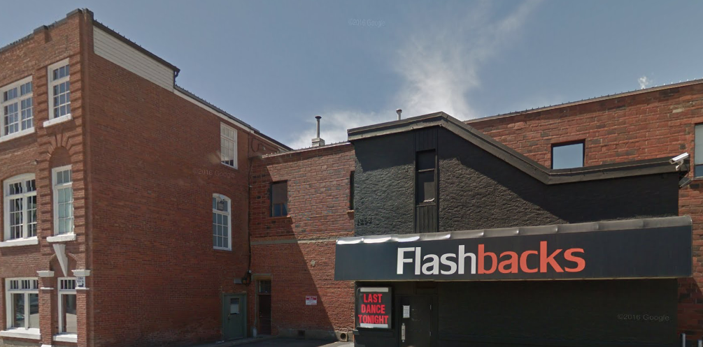 Flashbacks Nightclub, now closed