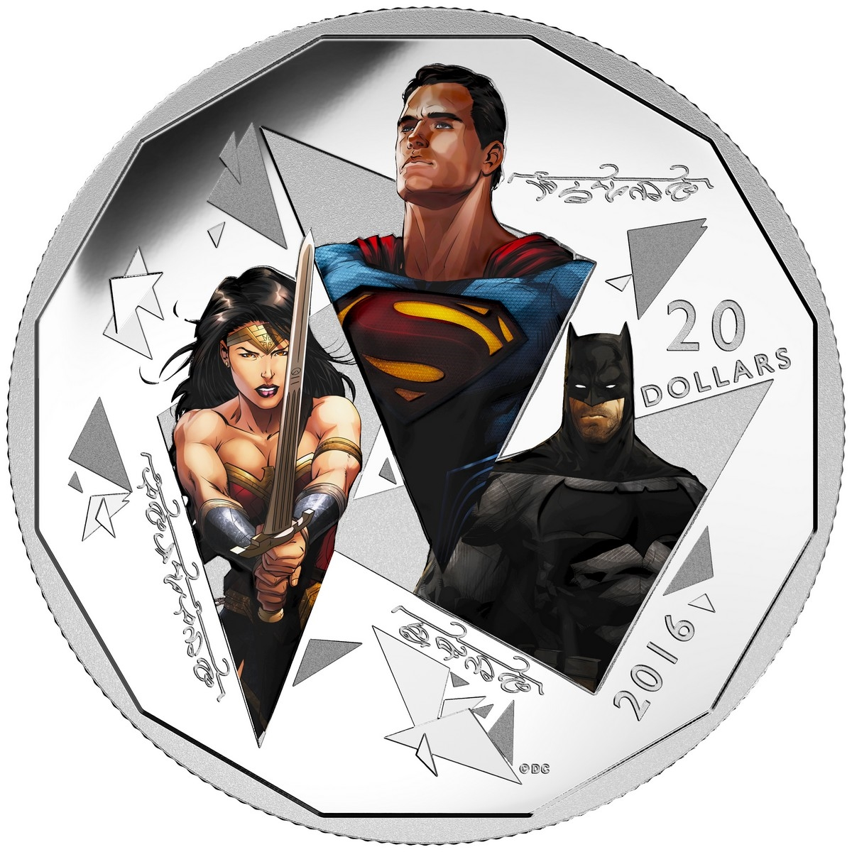 The Canadian Mint asked Schreyer to do some work for the commemorative Superman coins.