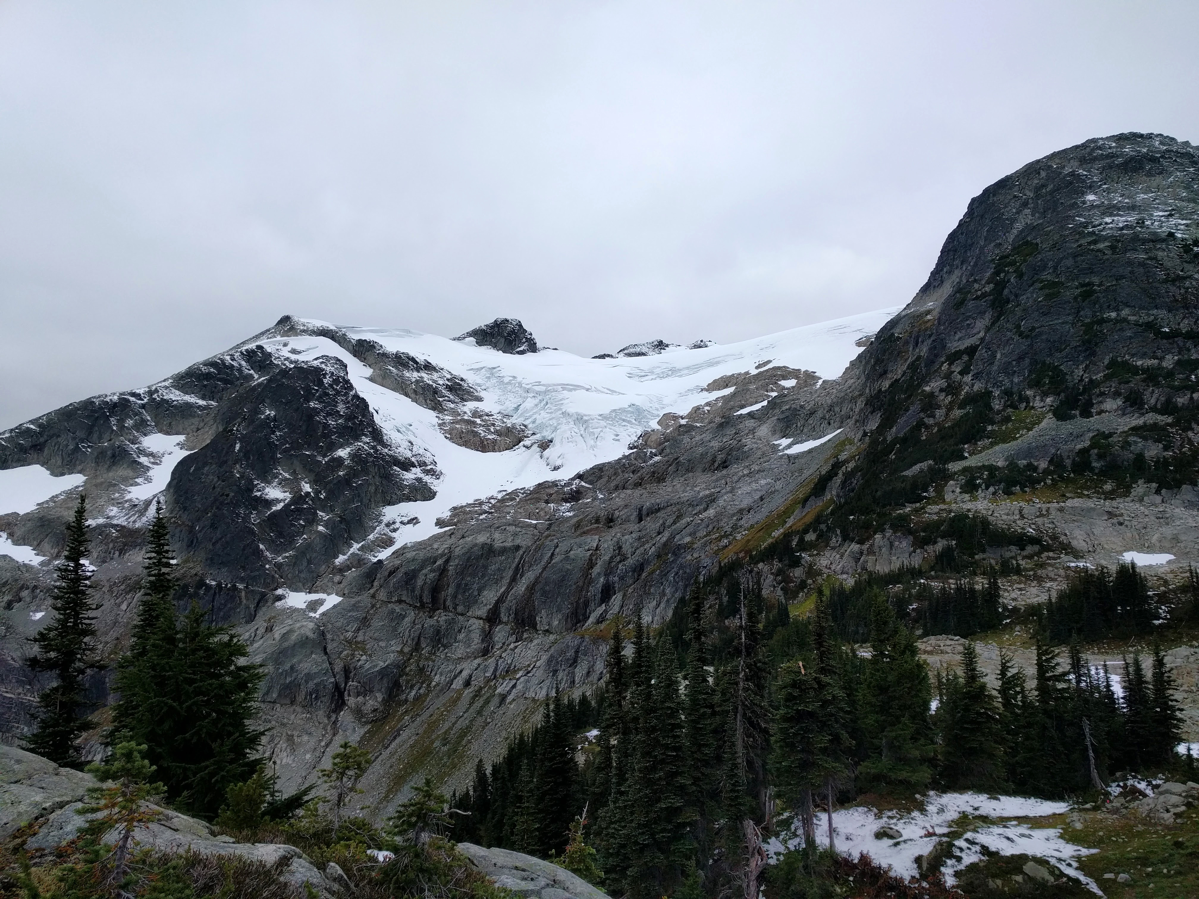 The Whistler ultramarathon takes runners up into the glaciers, among other ecological zones.