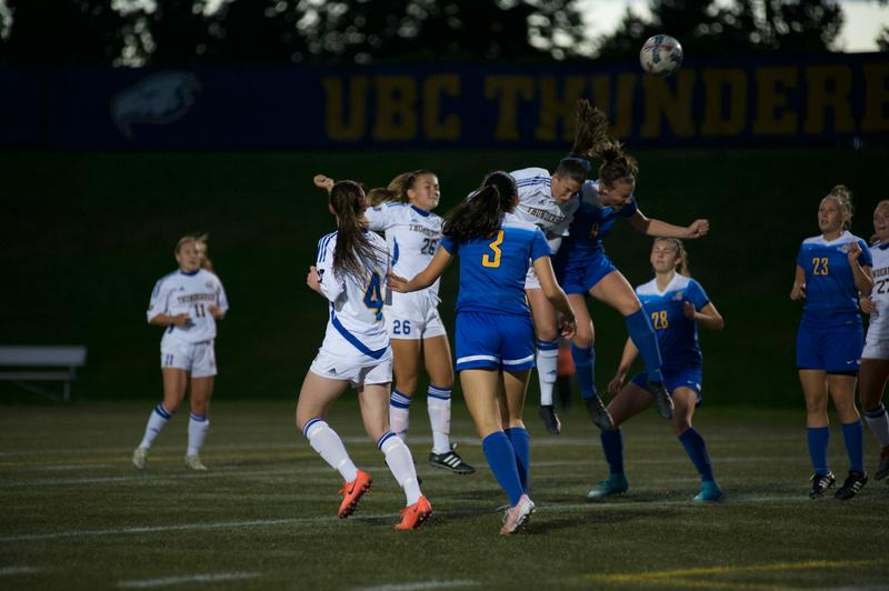 Duel for Canada West dominance ends in draw for women's soccer