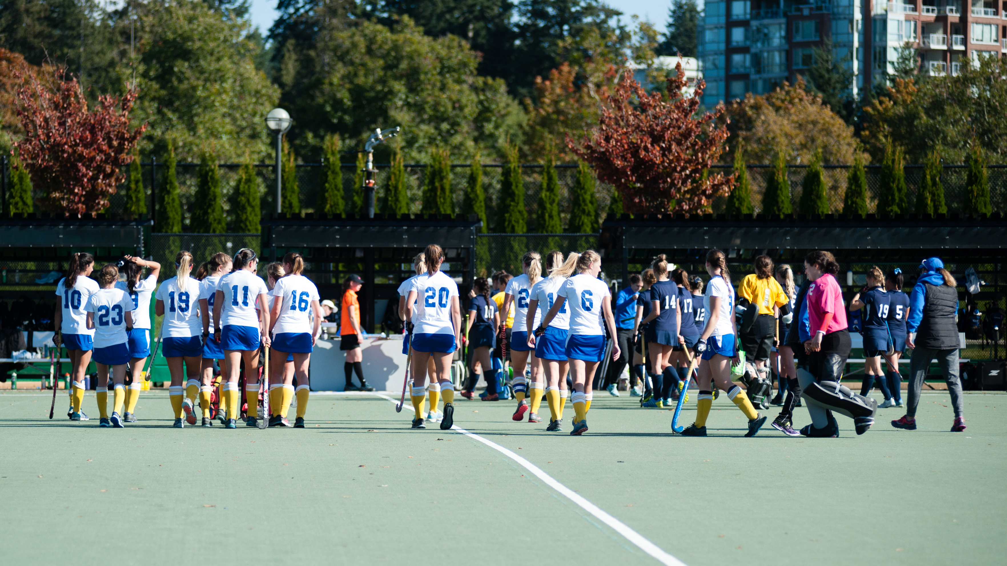 UBC walks off after continuing their undefeated streak.