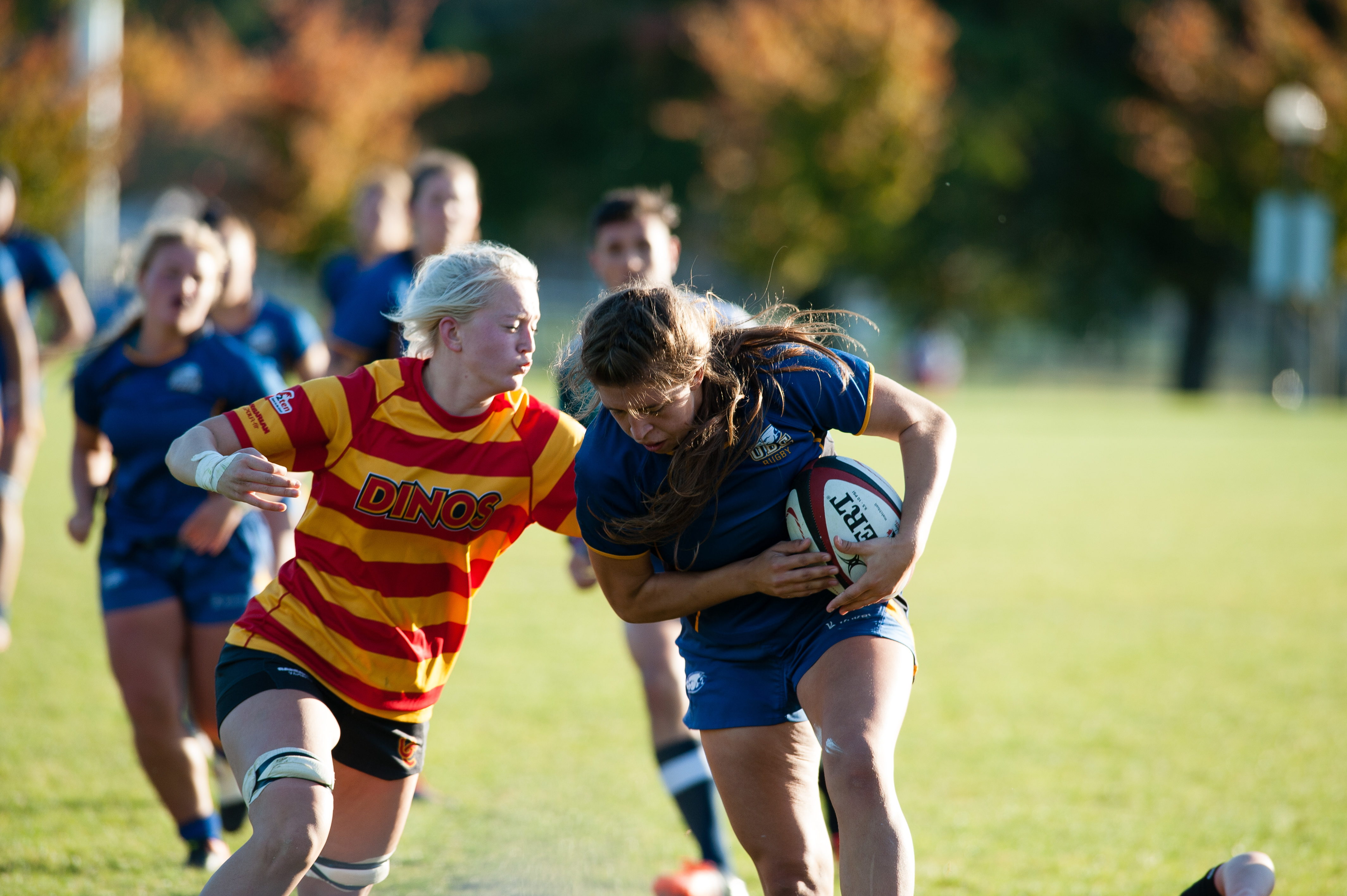 The Calgary Dinos squander a UBC attack.