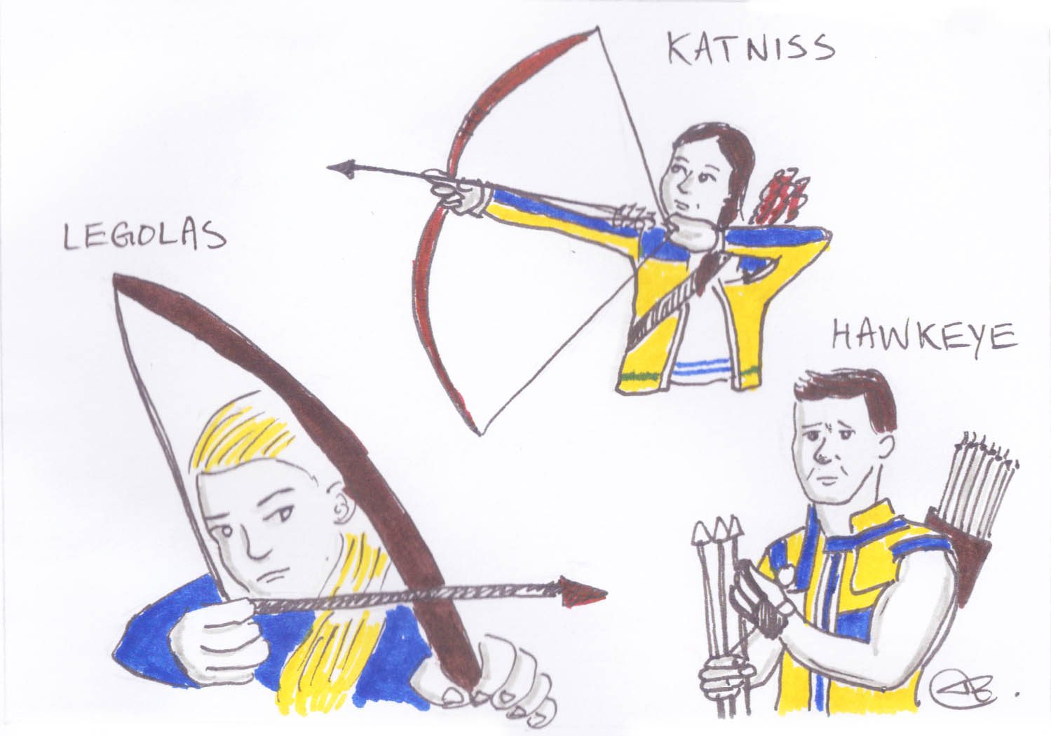 Archery isn't just a fictional sport.