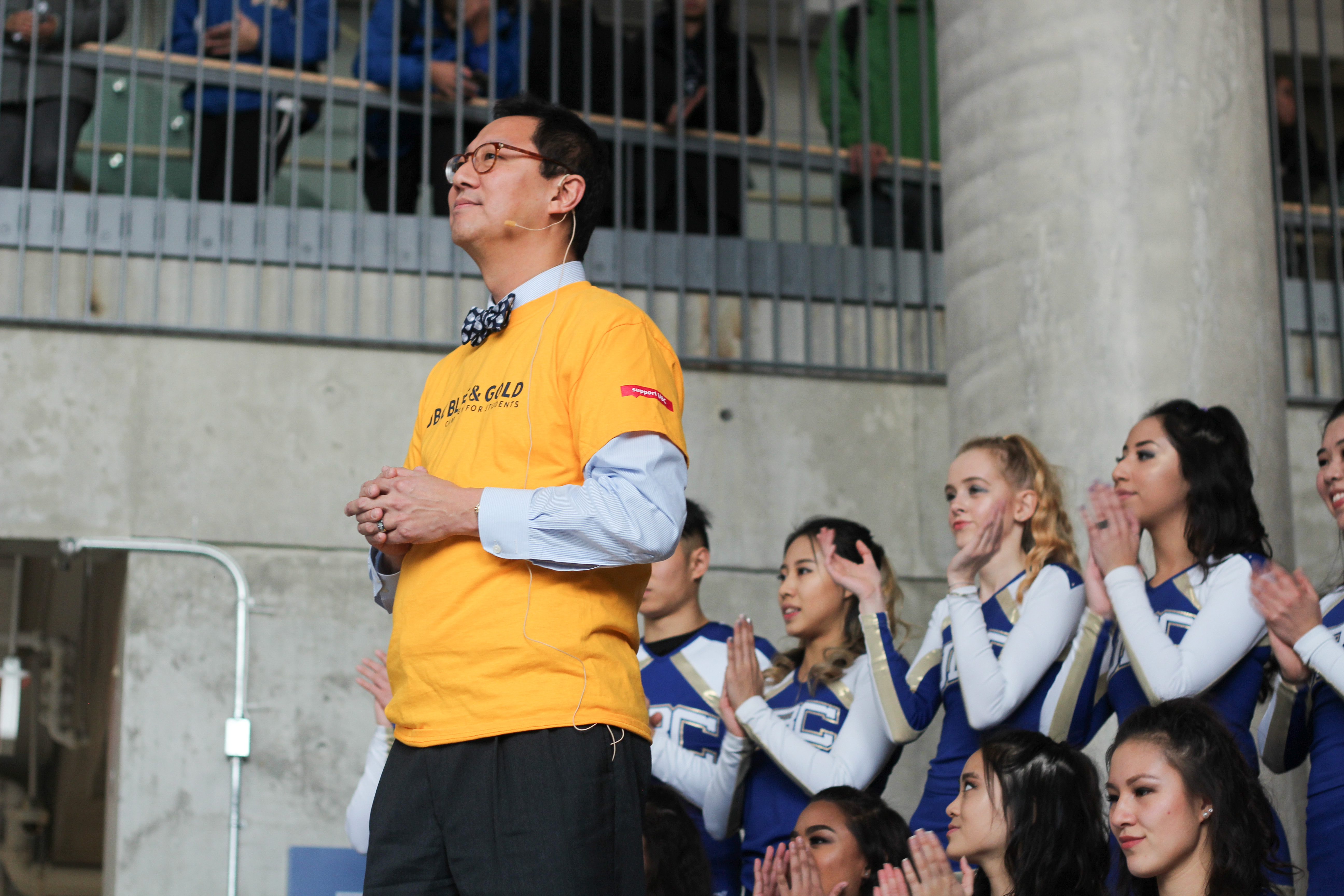UBC launched the Blue & Gold Campaign for Students, a fundraising campaign with an initial goal of raising $100 million by 2020.