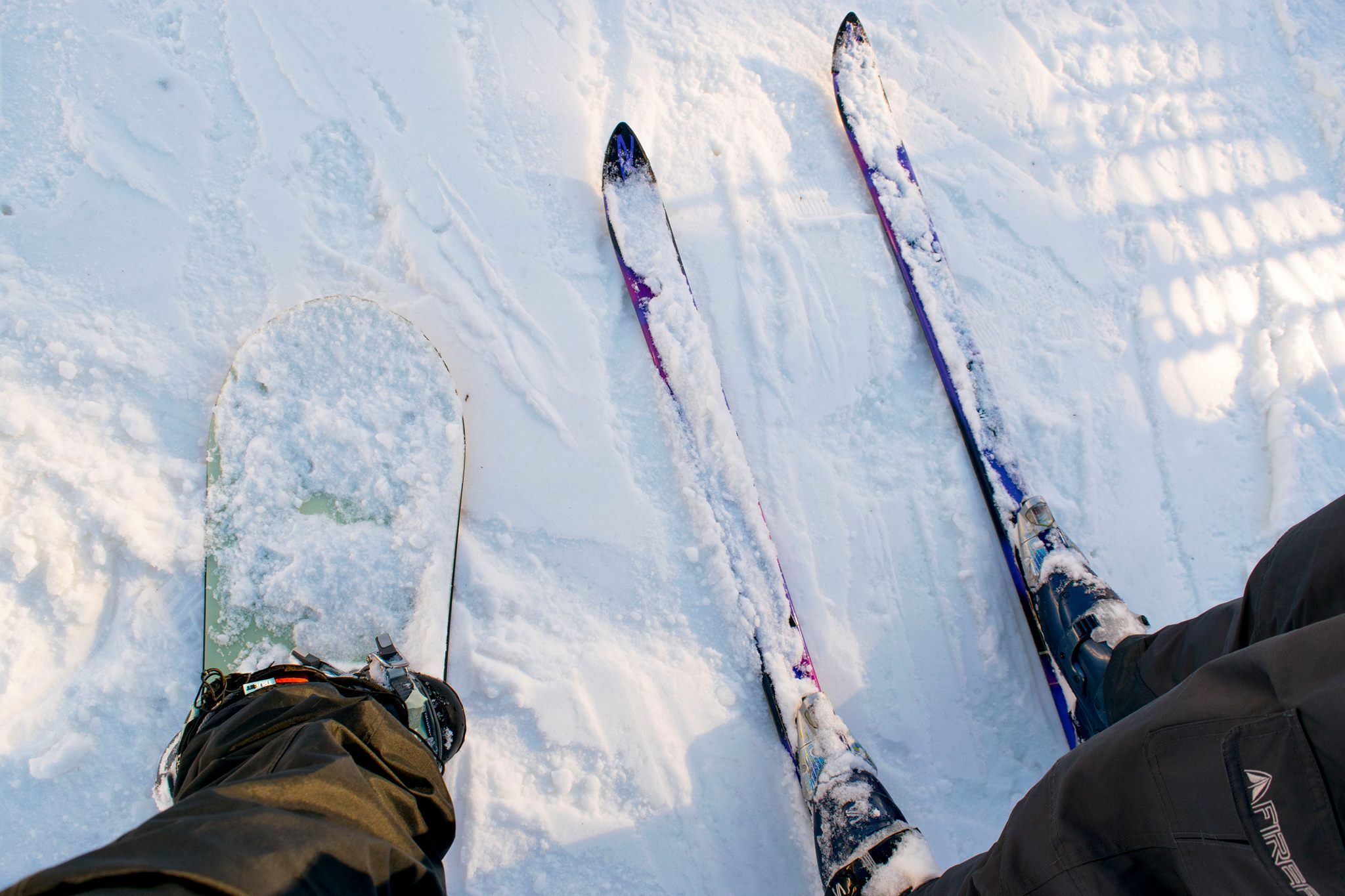 Getting your hands on the right gear is an important part of skiing and snowboarding.