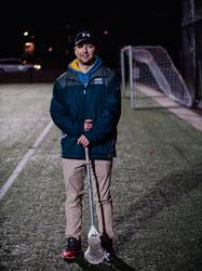 UBC mens lacrosse practice, 8 February 2018