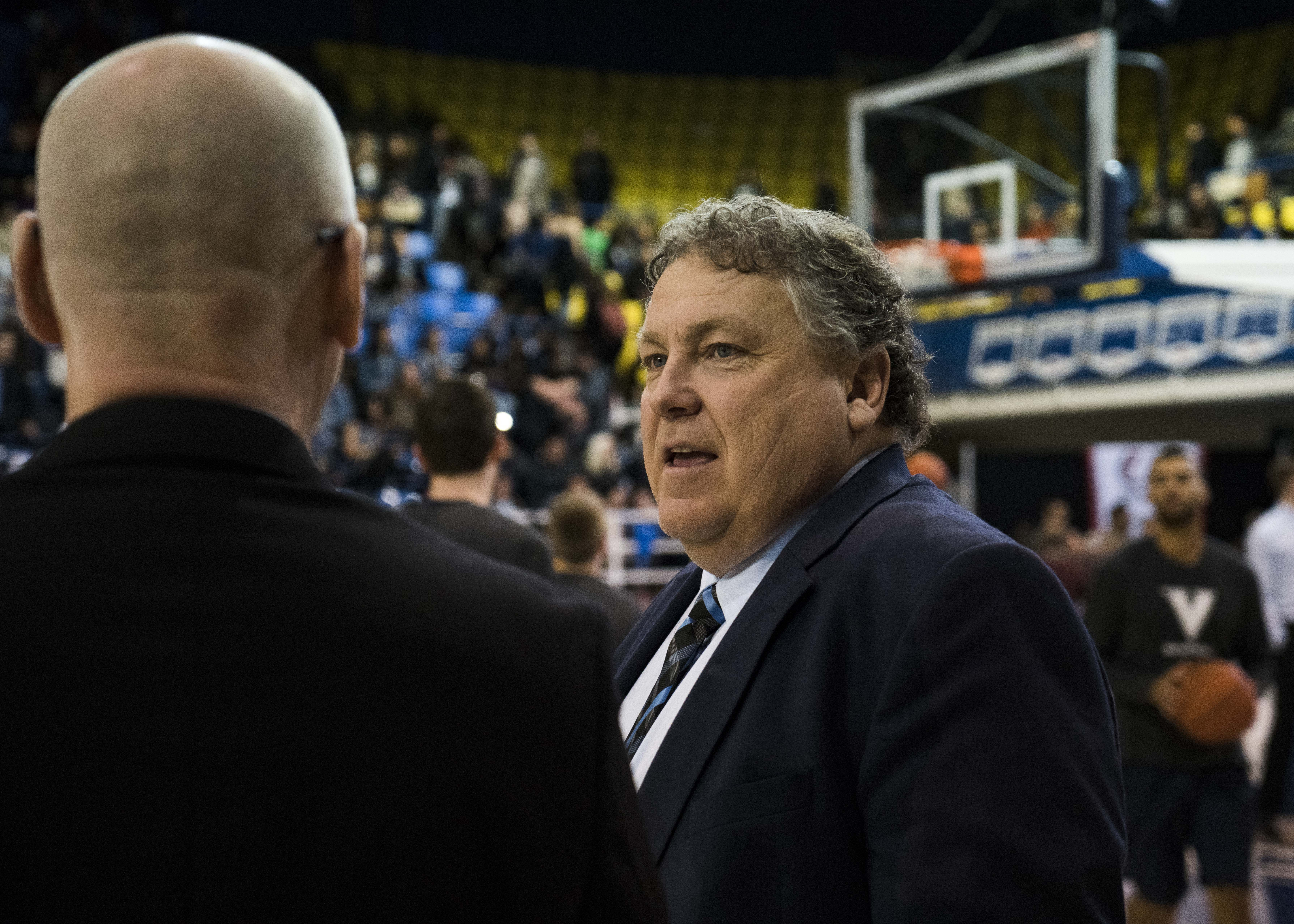 Coach Kevin Hanson has been at UBC for 19 seasons.