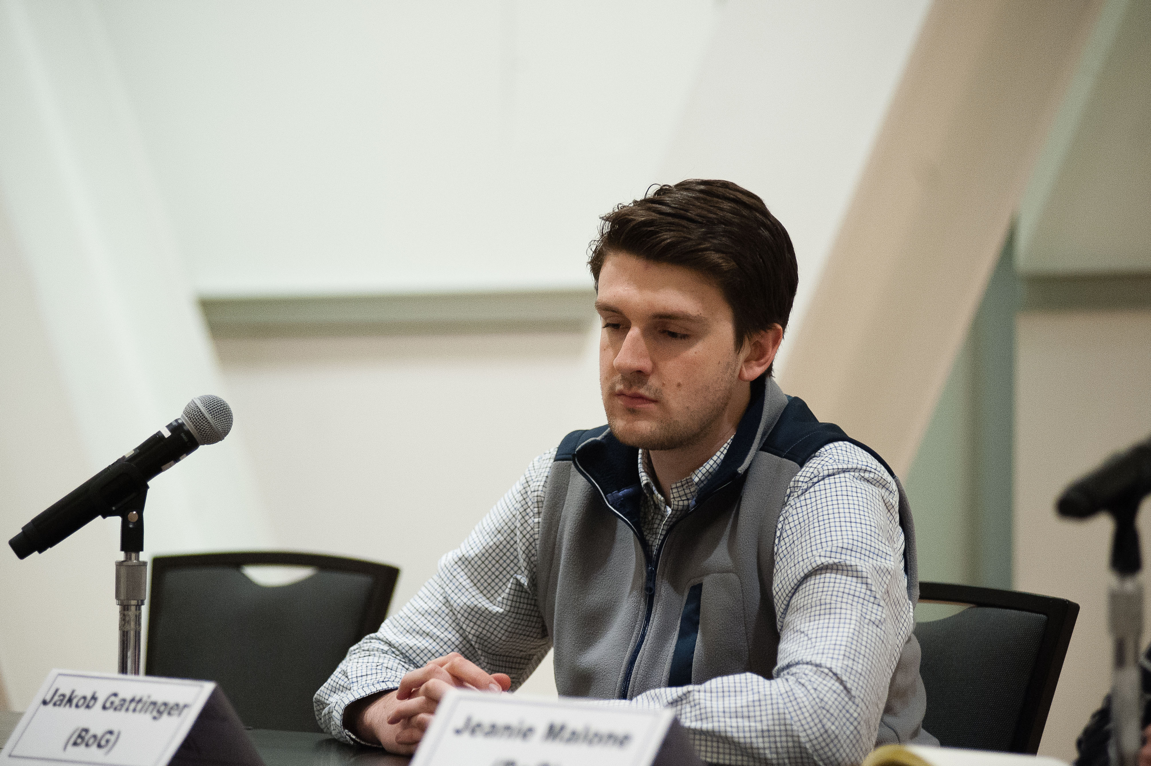 Newcomer Jakob Gattinger