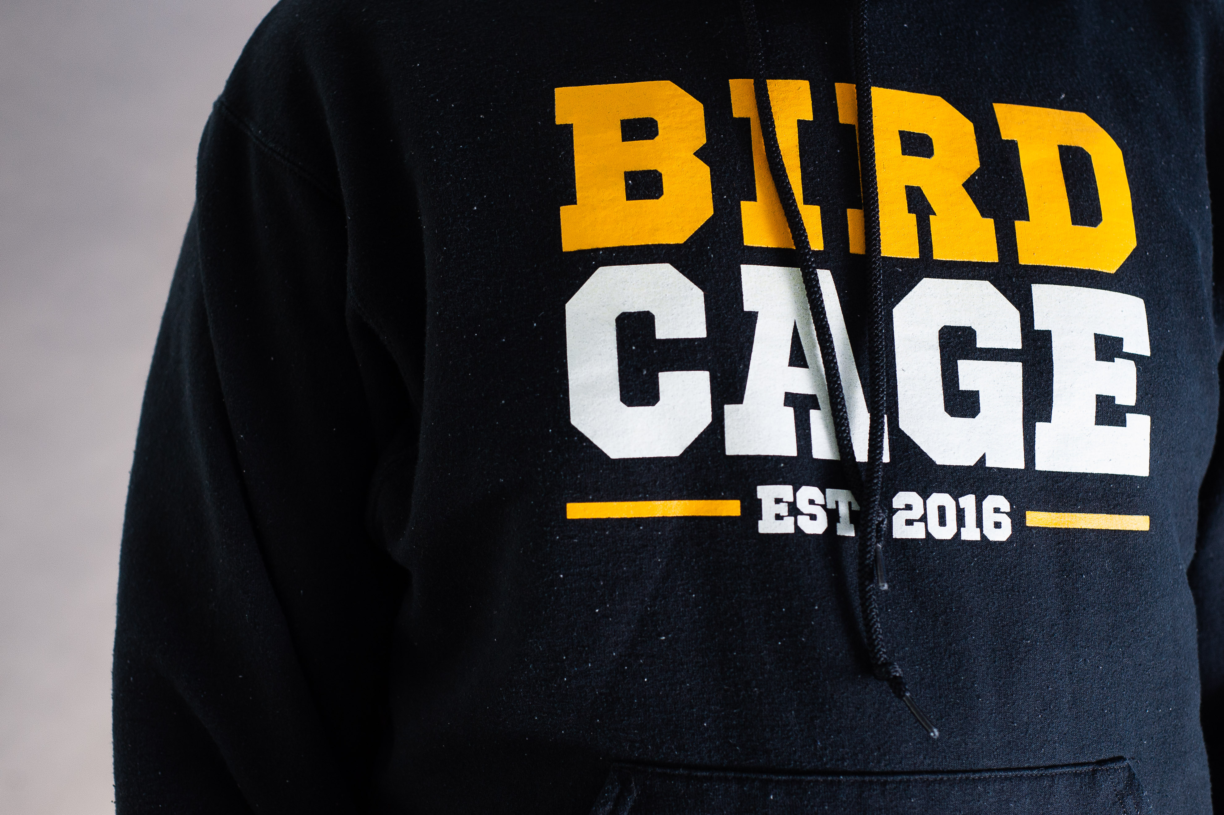Athletics changed the Birdcage hoodies to t-shirts for 2017.