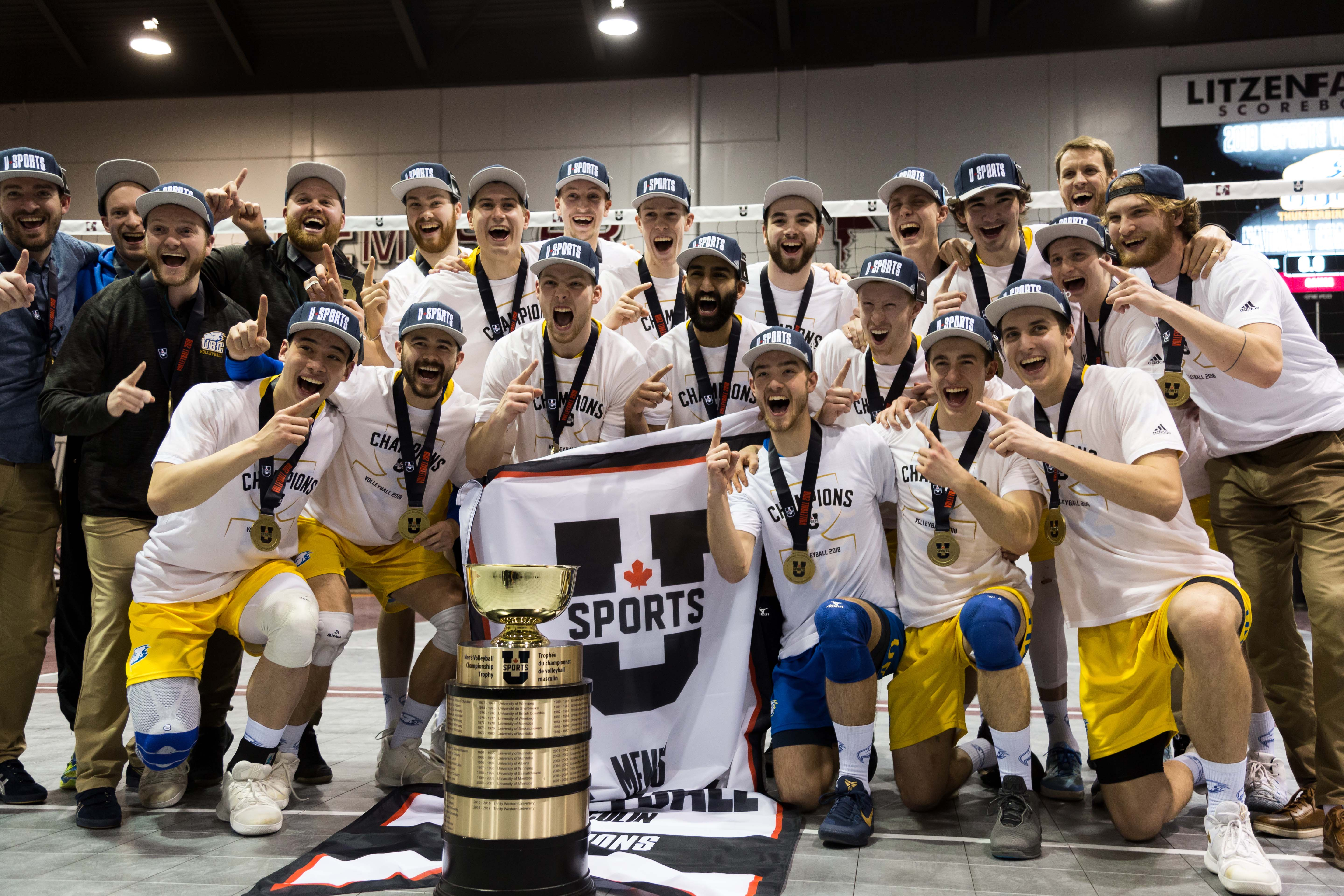 UBC was all smiles — and rightly so — post-game.