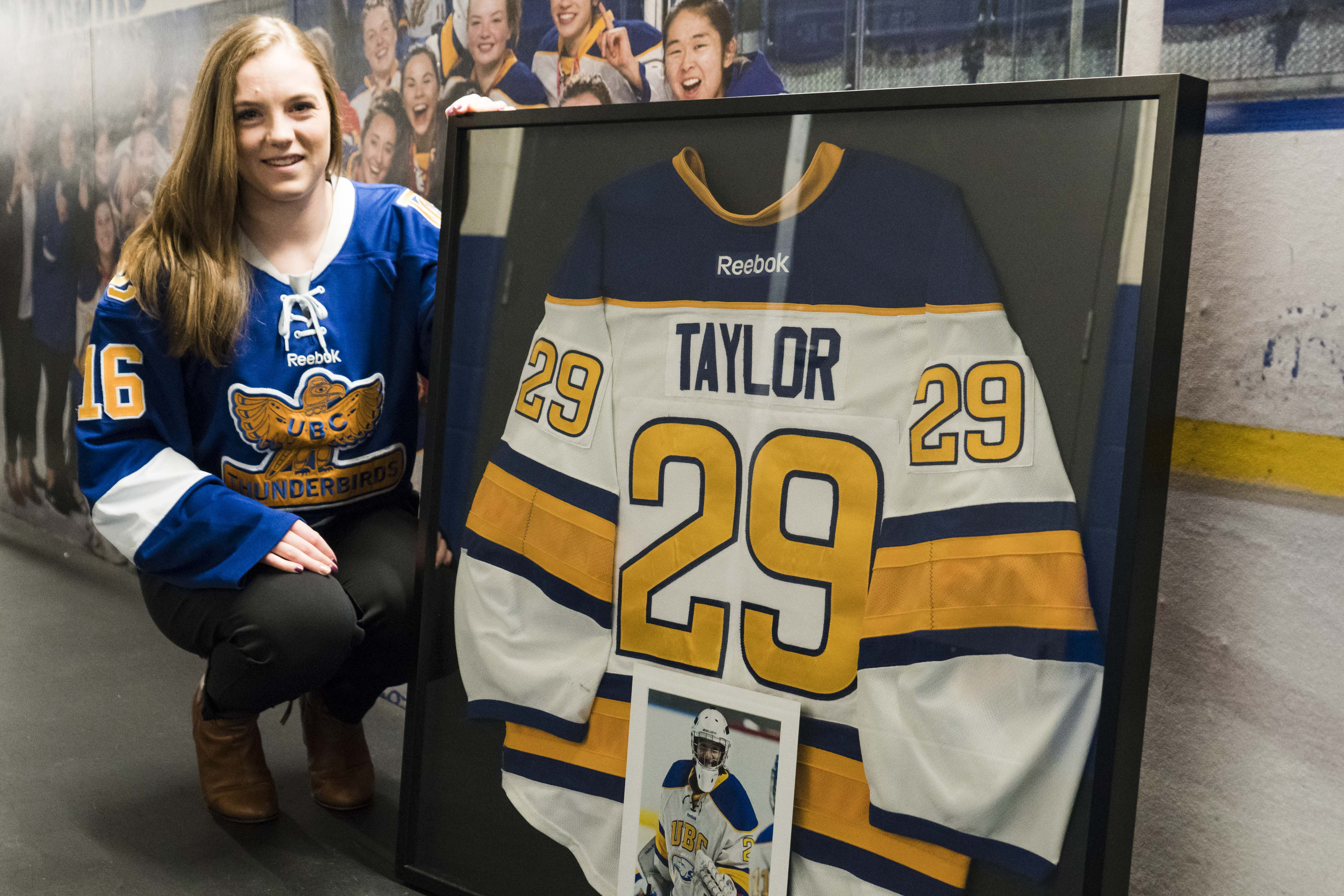 In the aftermath of the passing of teammate Laura Taylor, Ogrodniczuk set out to create a better mental health resource for student-athletes
