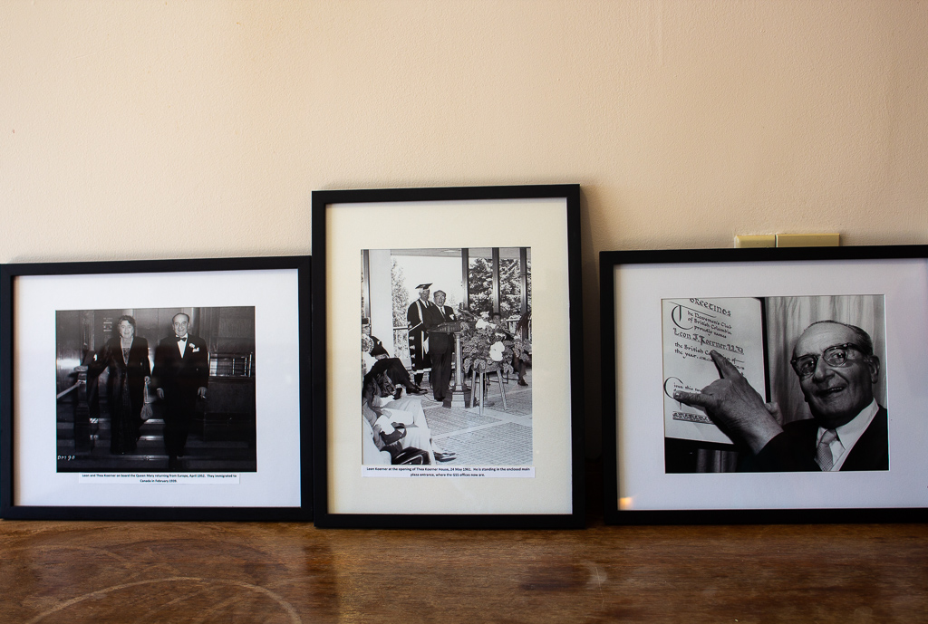 Photos of Leon Koerner in his former home