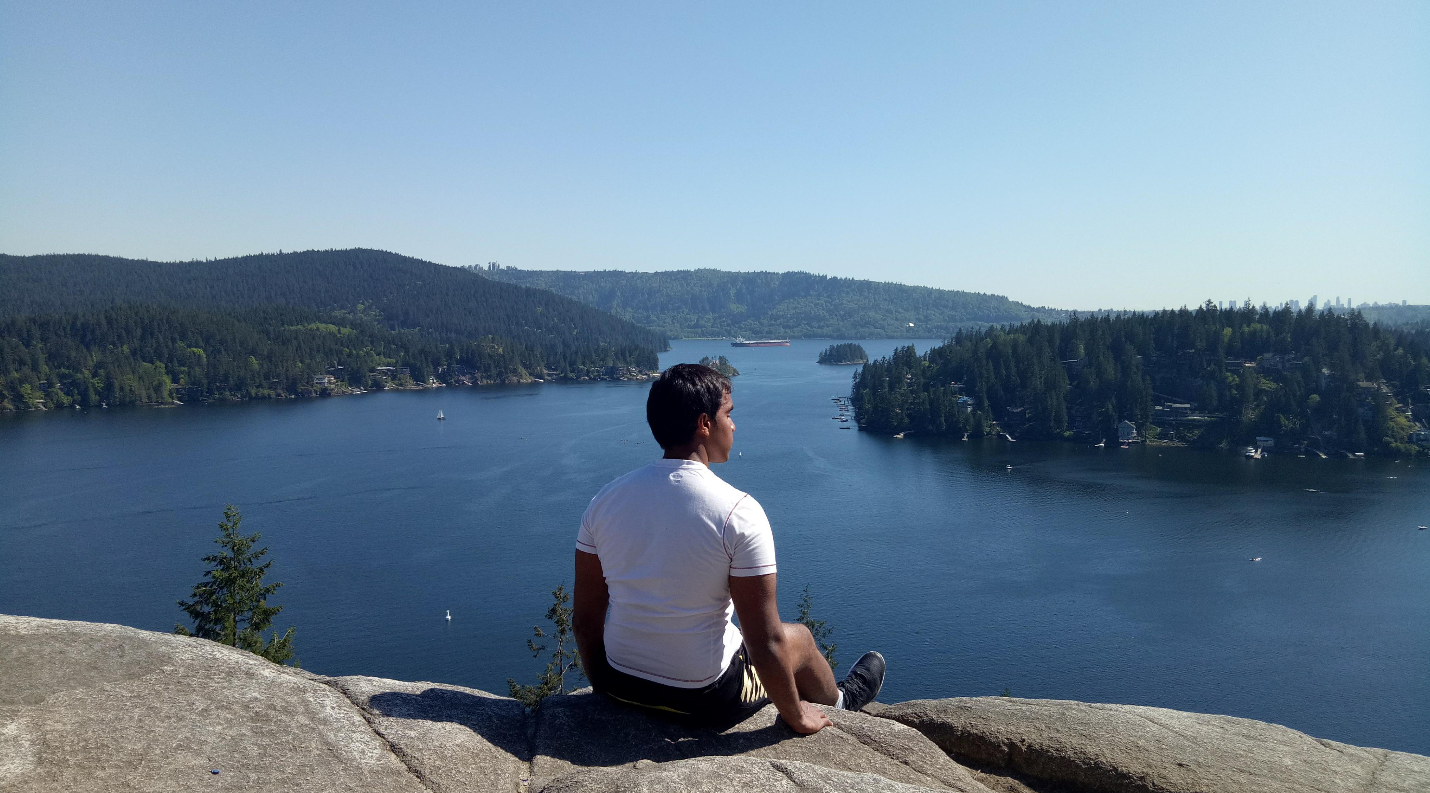 The view from the top of Quarry Rock is breathtaking.