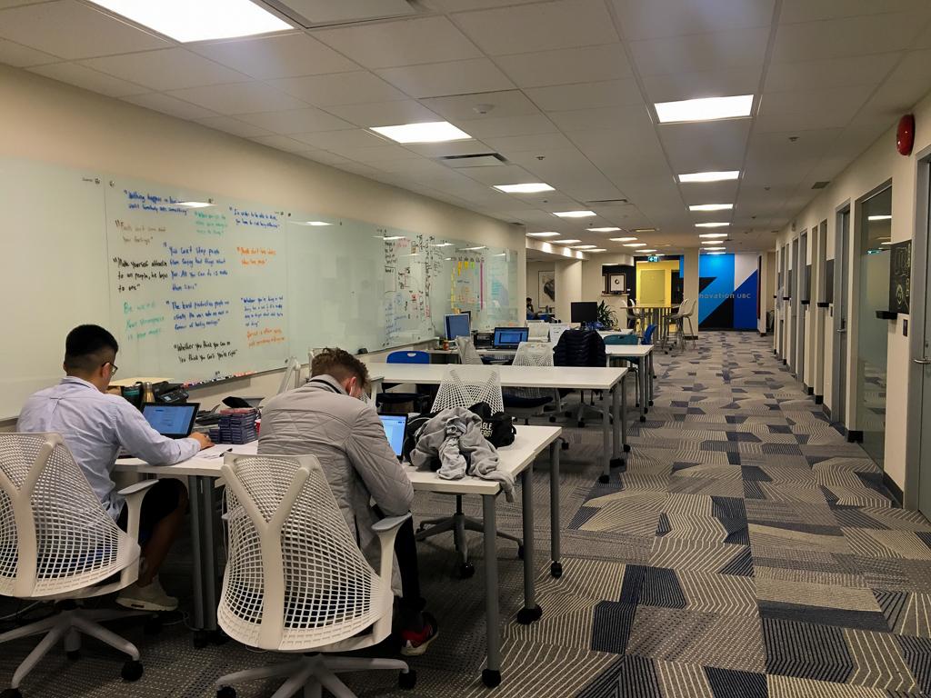 Inside the innovation hub