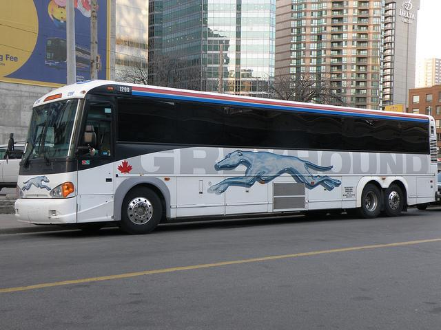 Cancellation of Greyhound bus service in Western Canada