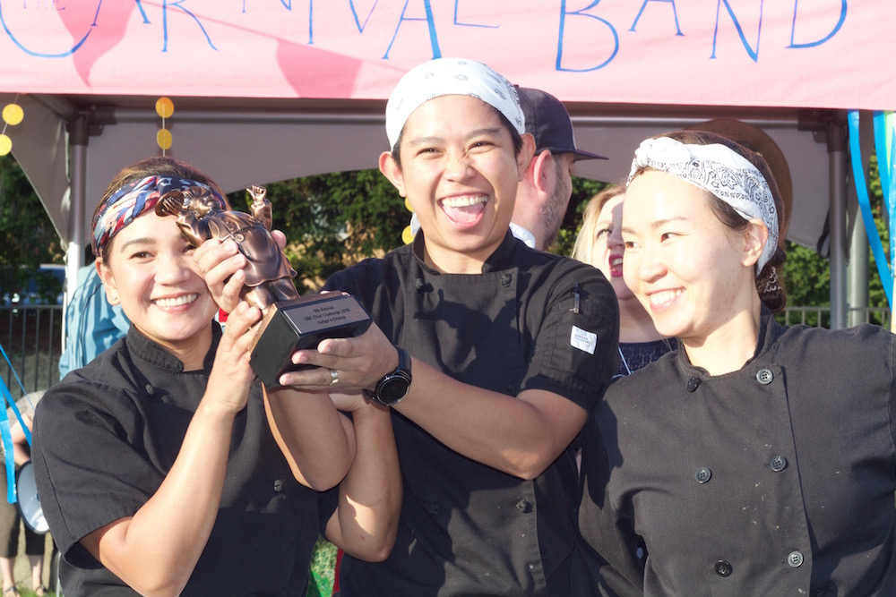 UBC Food Services took home the trophy for jury vote
