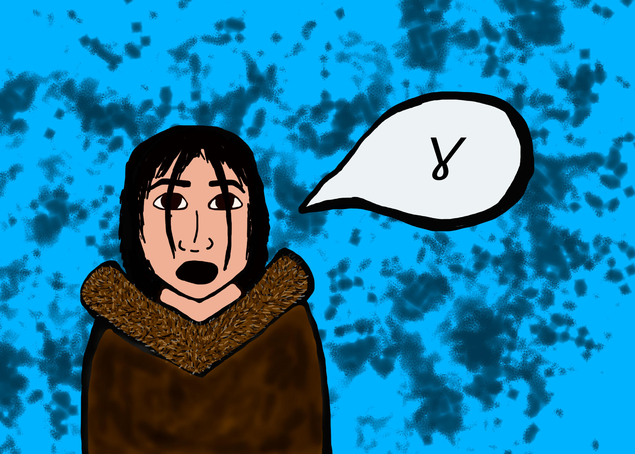 Voiced velar fricative