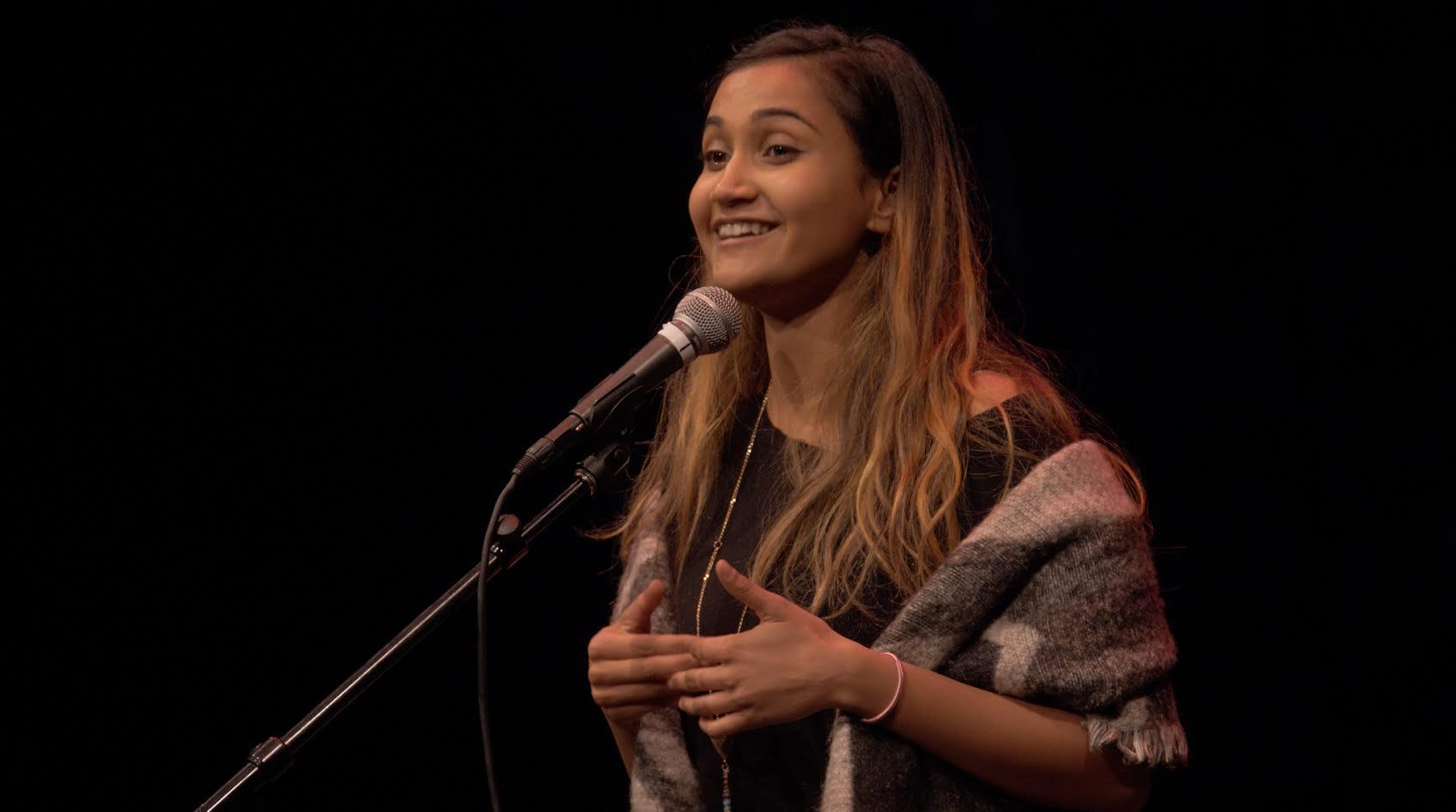 Anjalica Soloman, slam poet