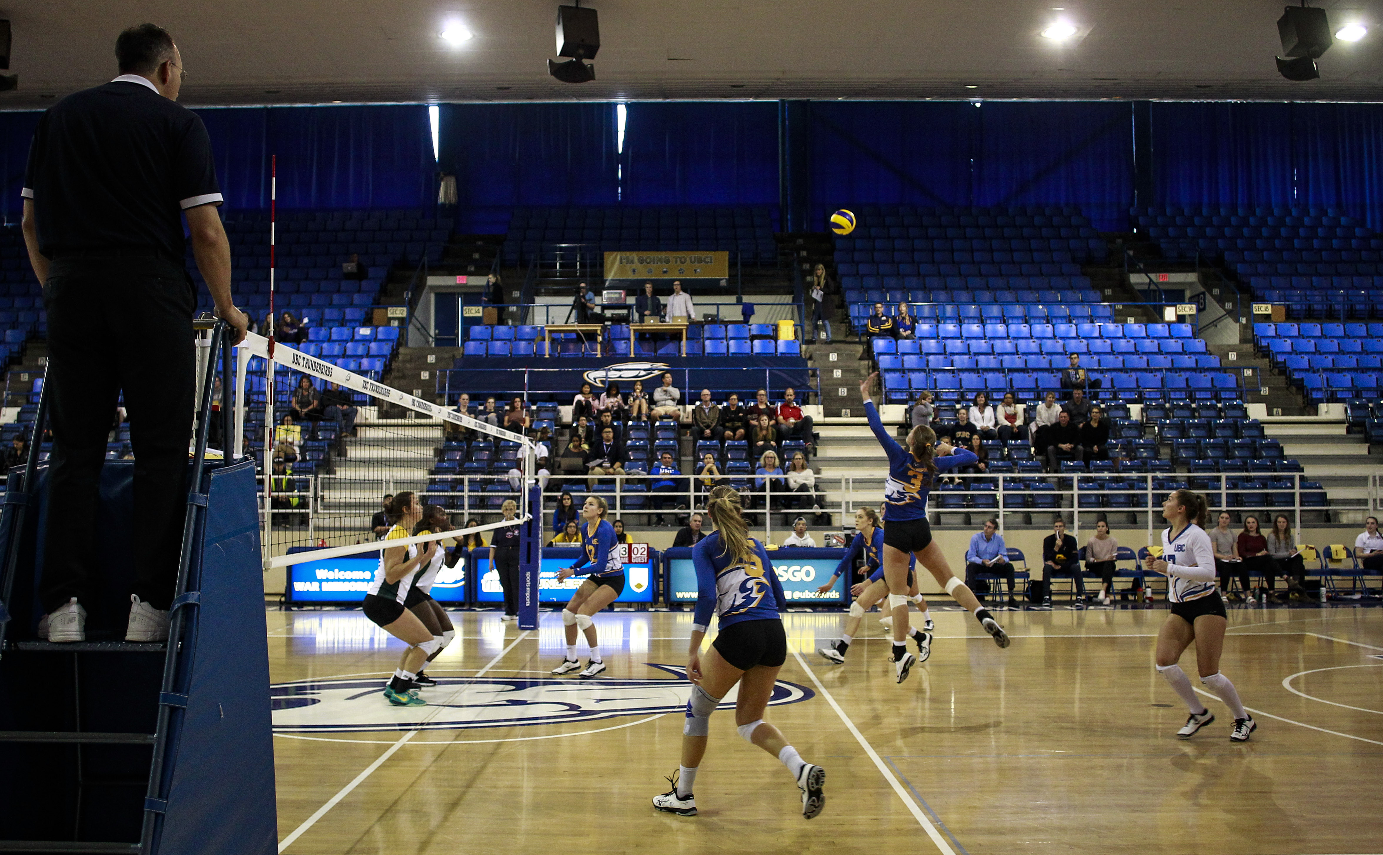 Both men's and women's volleyball also got their Canada West season's underway this weekend.