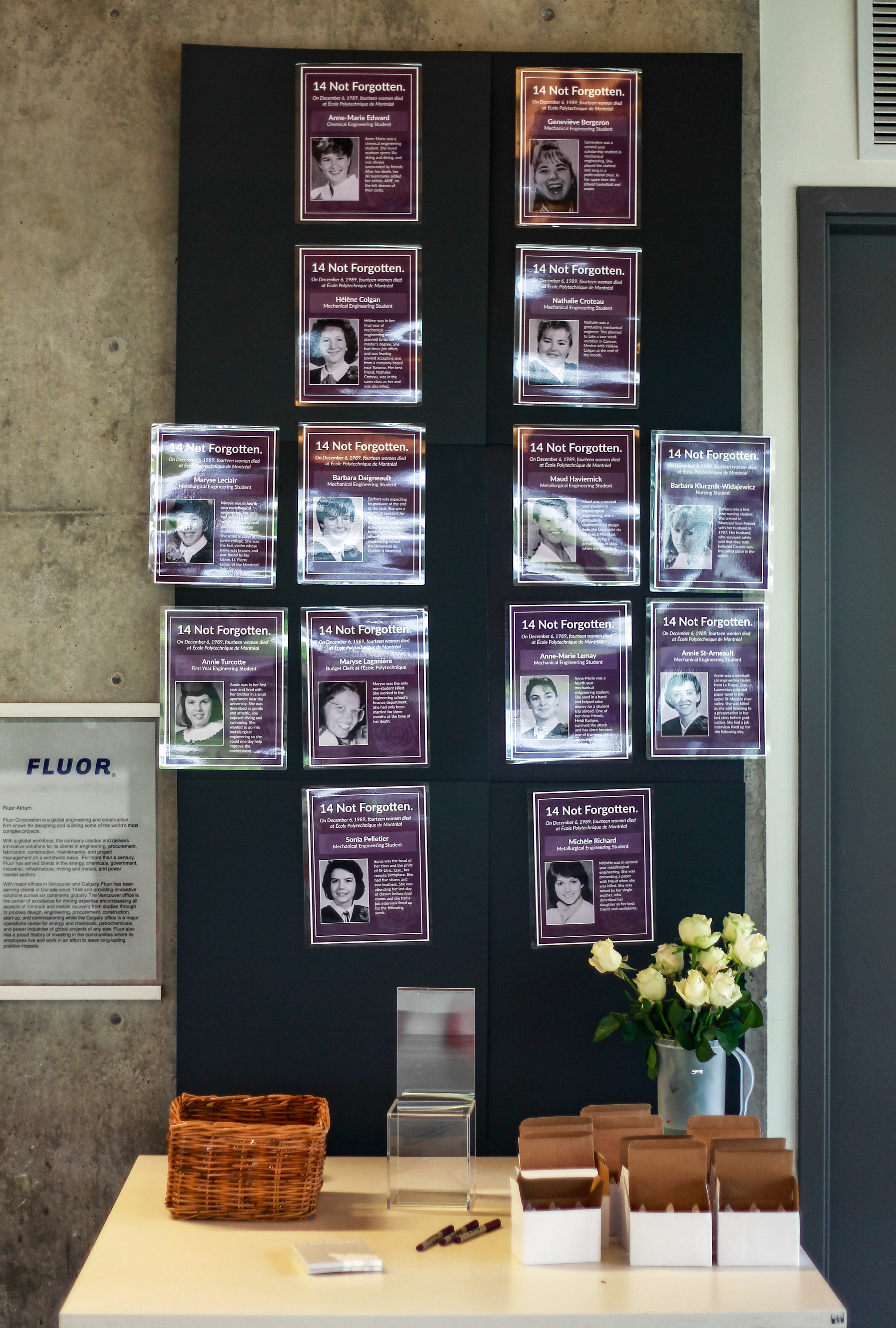 In 1989, a gunman killed 14 women engineers at École Polytechnique in Montreal on the basis of their gender.