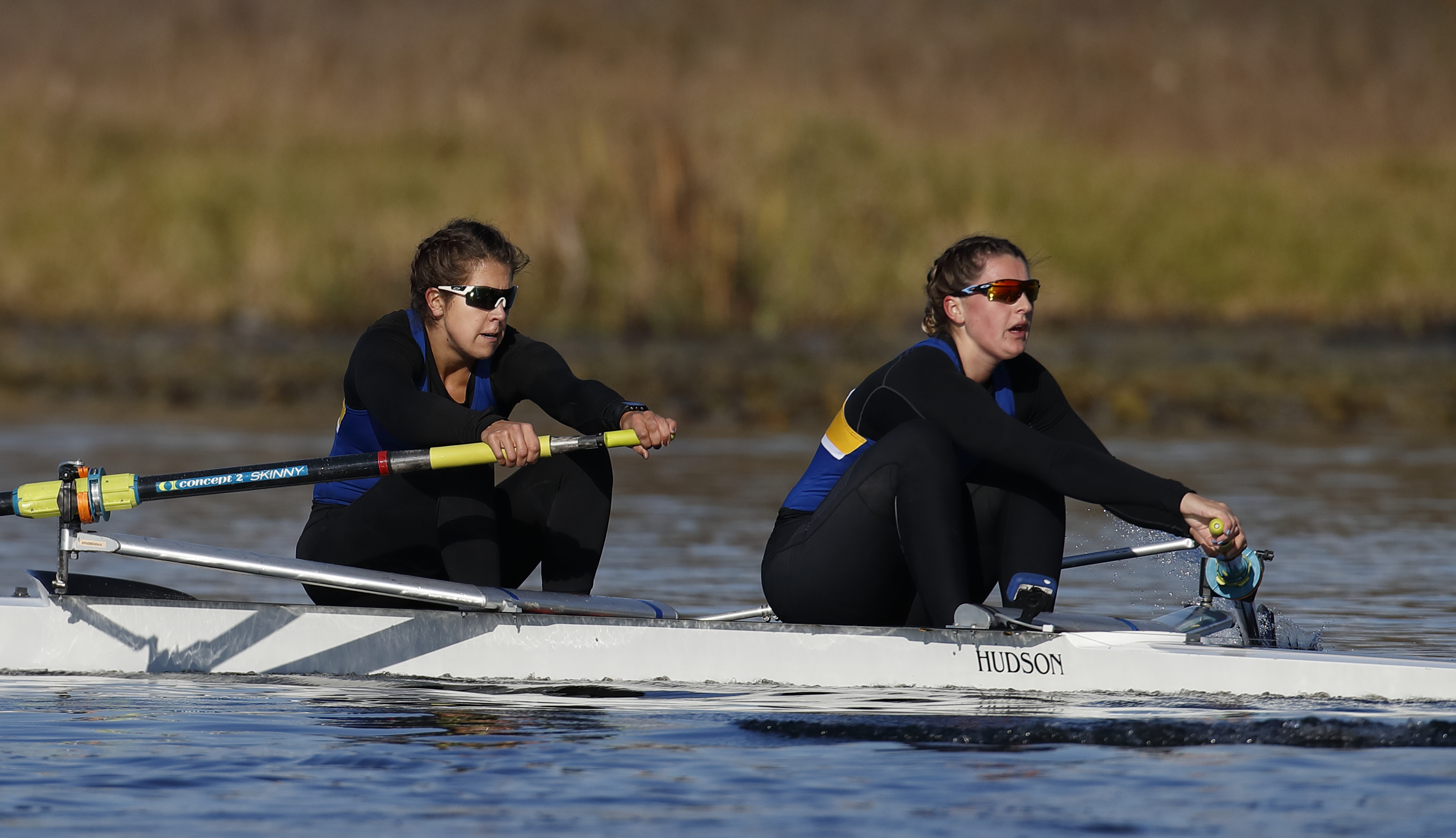 Sevick (left) is a member of UBC varsity rowing team today.