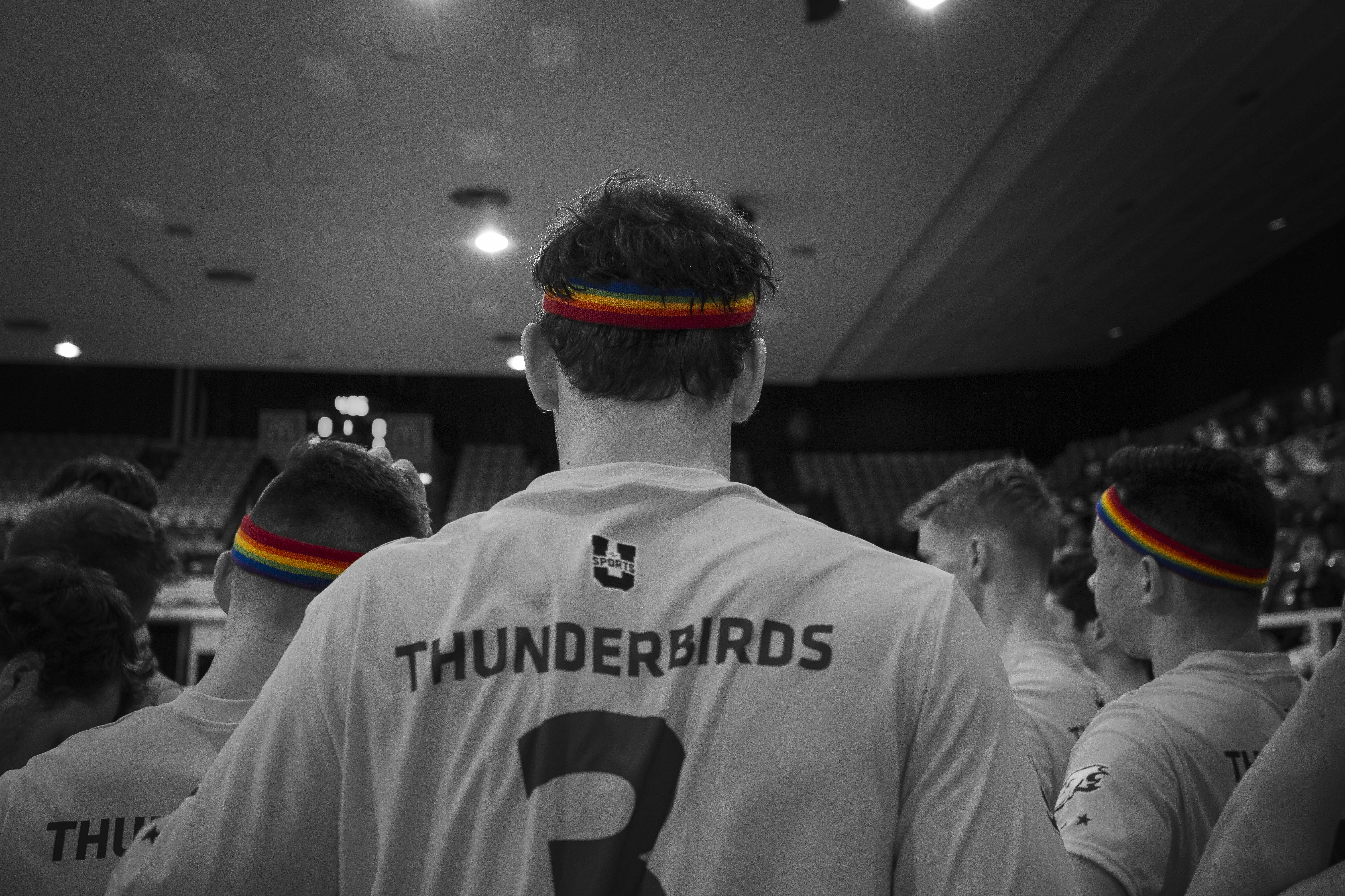 UBC volleyball celebrated Pride Night this past weekend.
