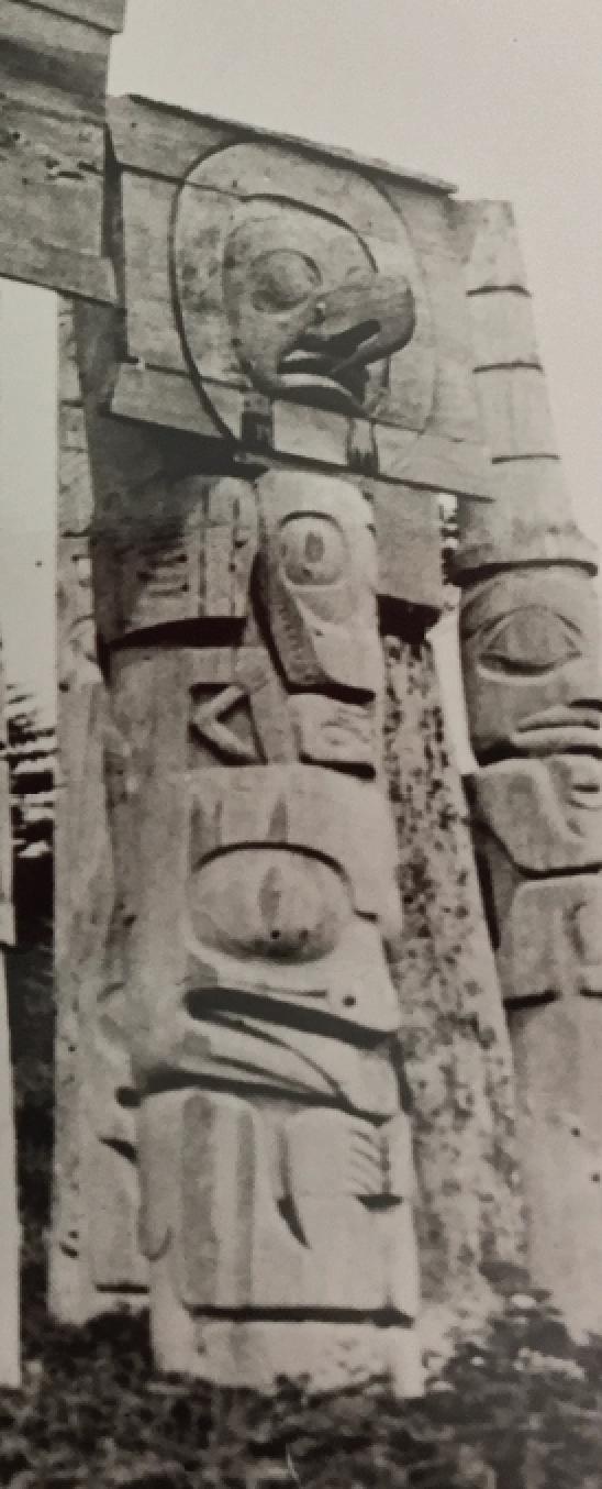 Haida Mortuary Pole from SGang Gwaay (MOA A50017), circa 1901