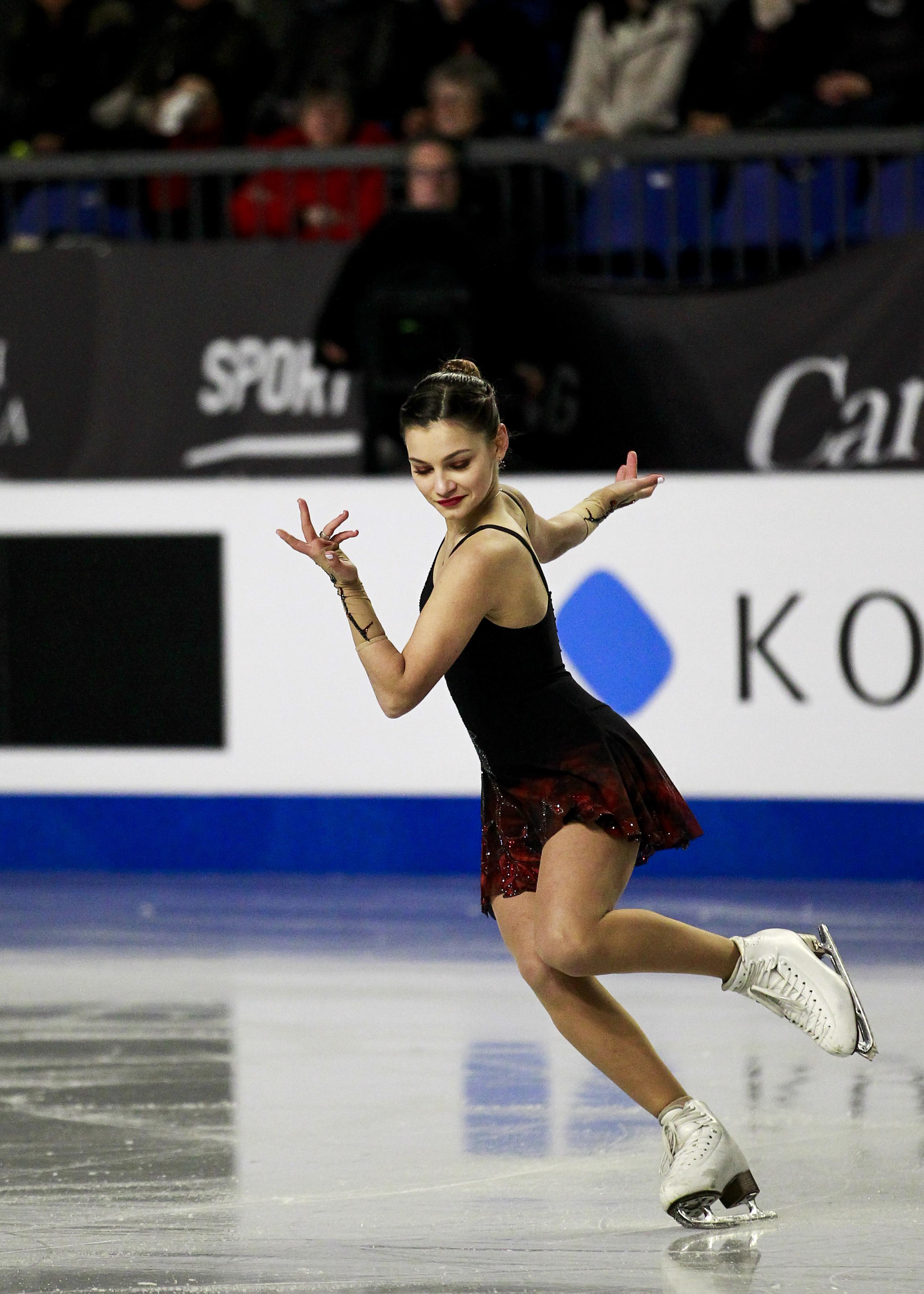 Sofia Samodurova from Russia.