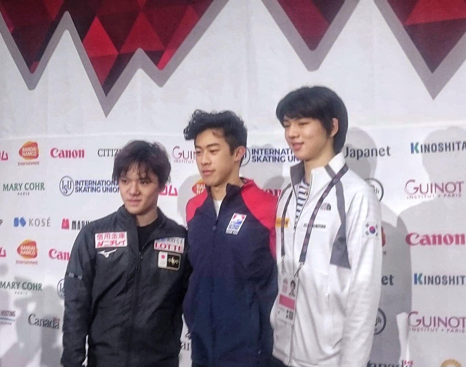 The medalists for the men's Grand Prix.