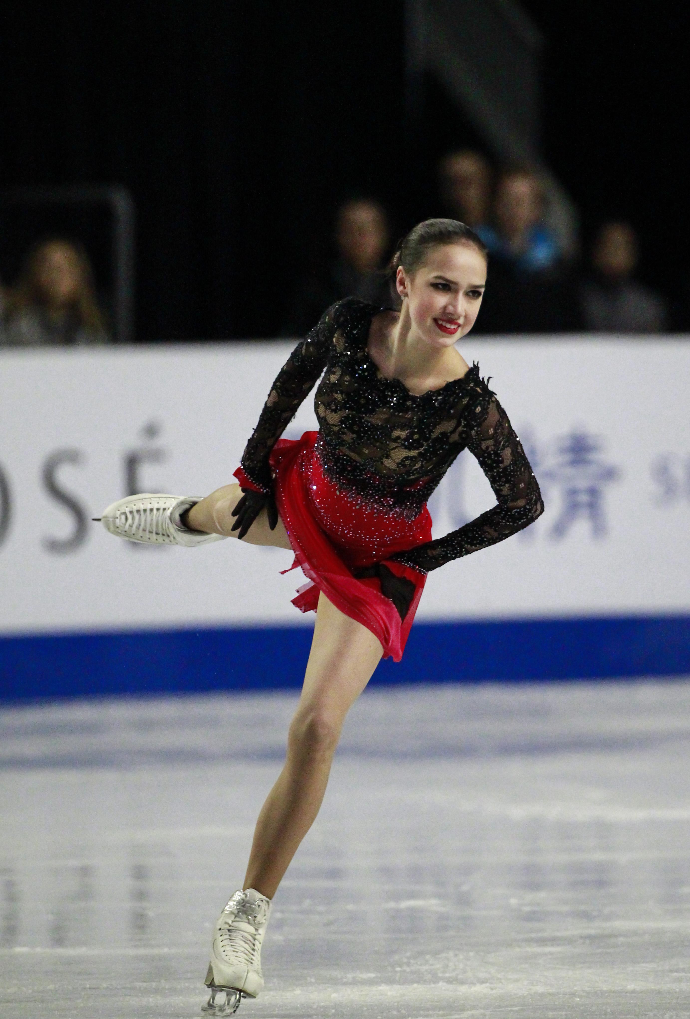 Russian skater Alina Zagitova.