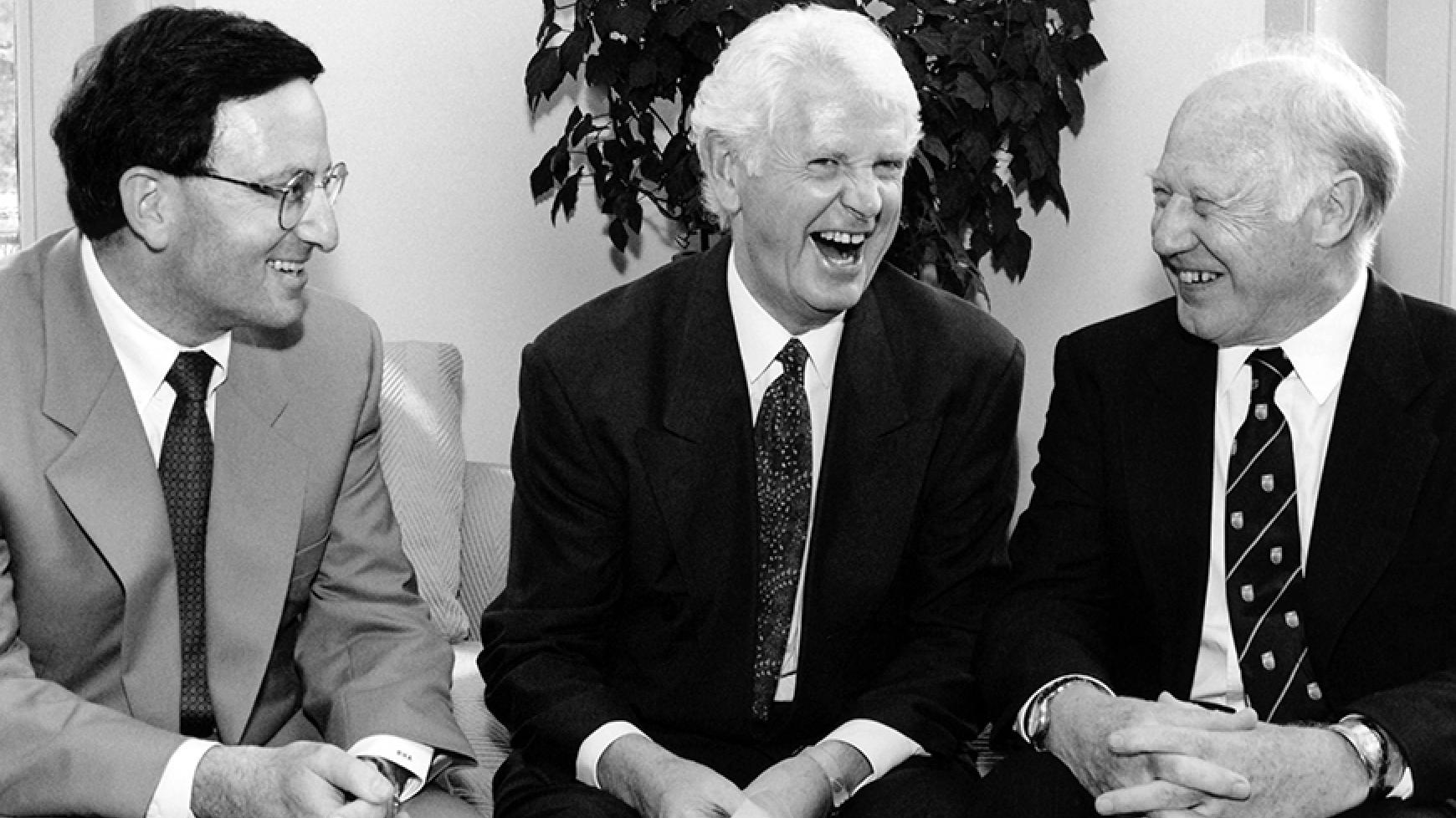 Dr. Raphael Amit, Peter Wall and Dr. Michael Smith