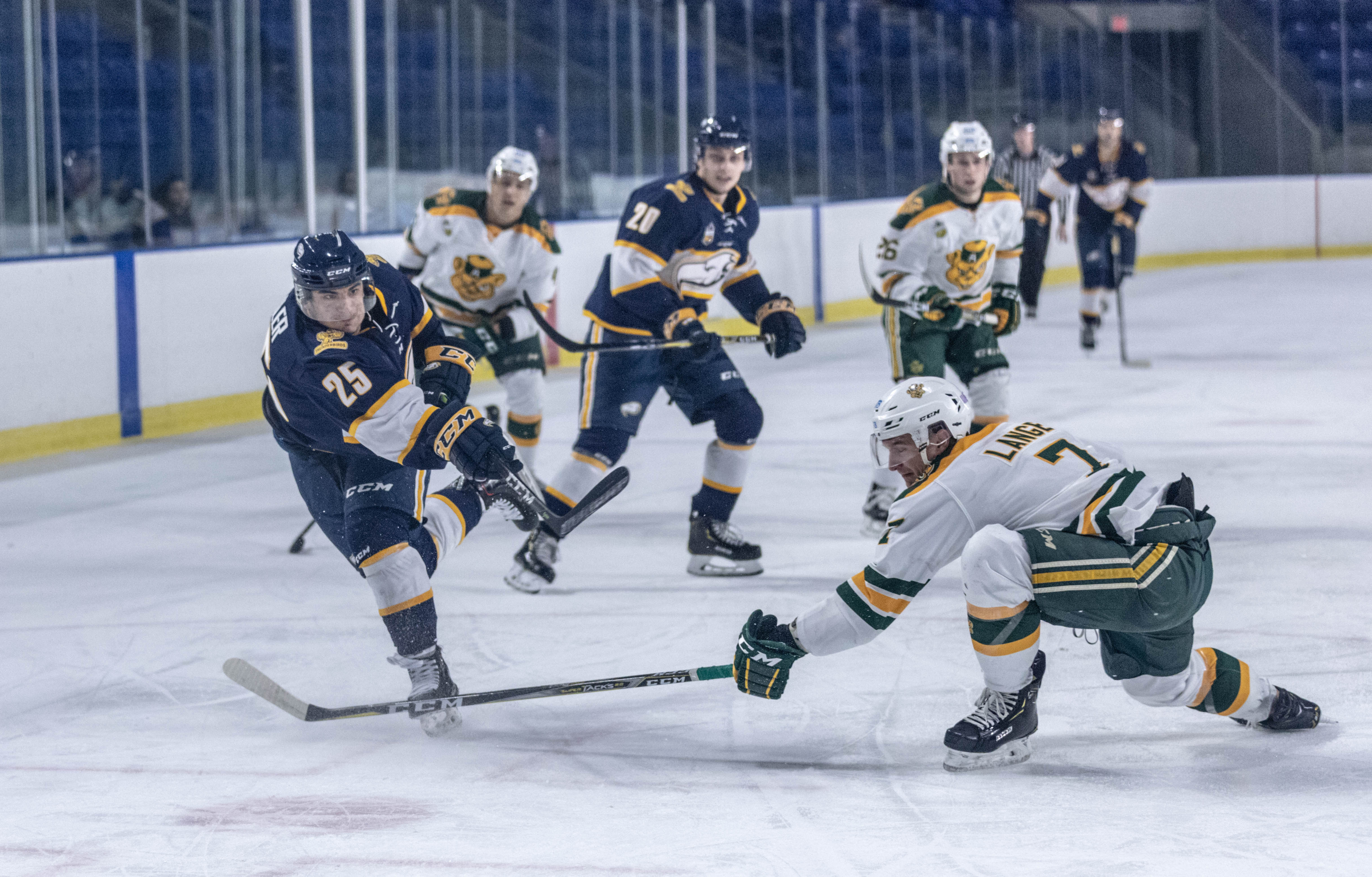 With the Vancouver Island University Mariners coming to town on Friday, the T-Birds will look to remain undefeated.