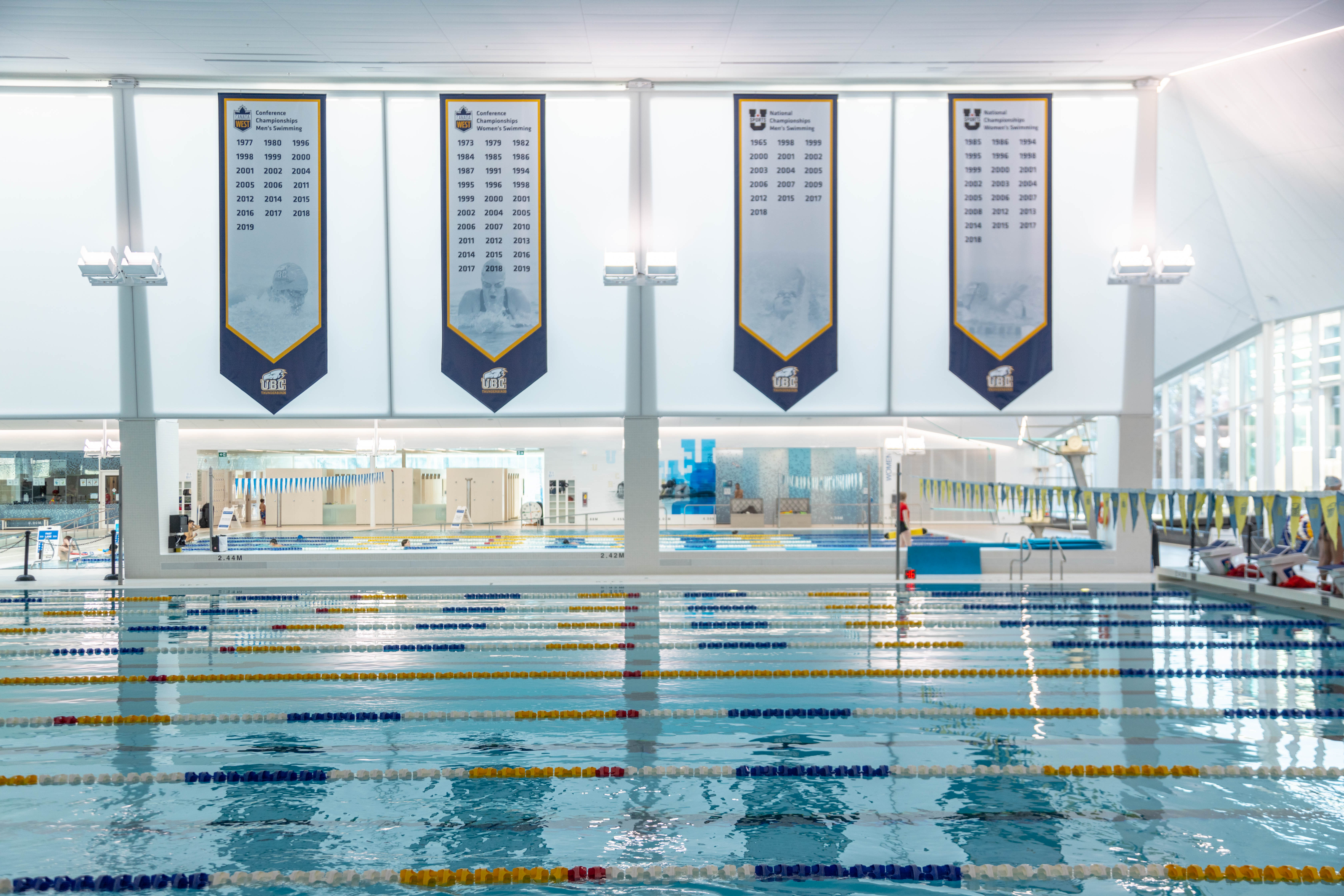 UBC has a winning history in Canadian university swimming.