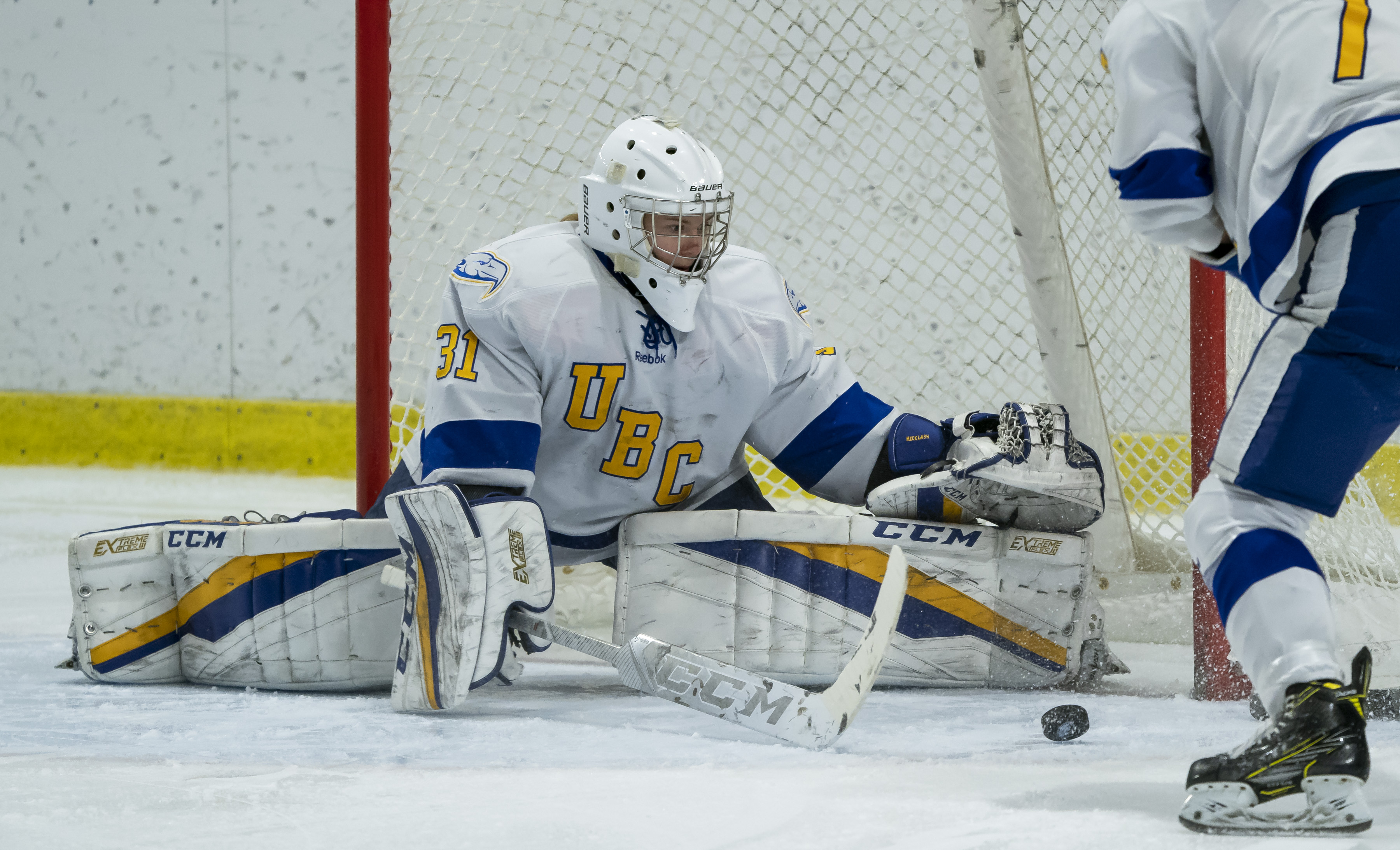 Micklash has been one of the best goalies in the country during her four seasons playing for the UBC Thunderbirds.
