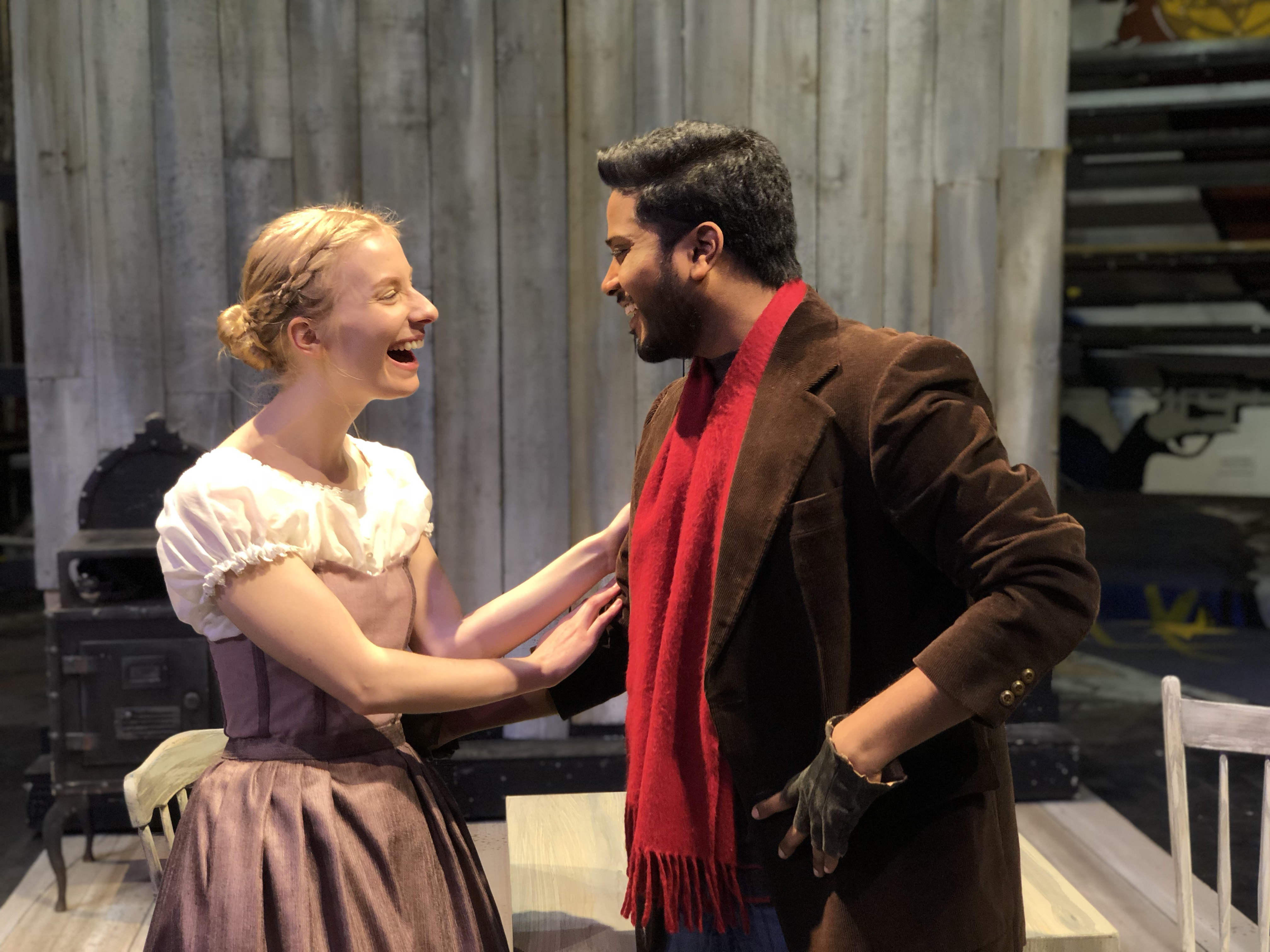 Karthik Kadam and Hannah Everett Long