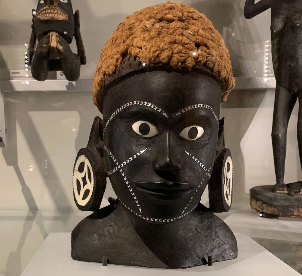 Bust of a woman: Solomon Islands