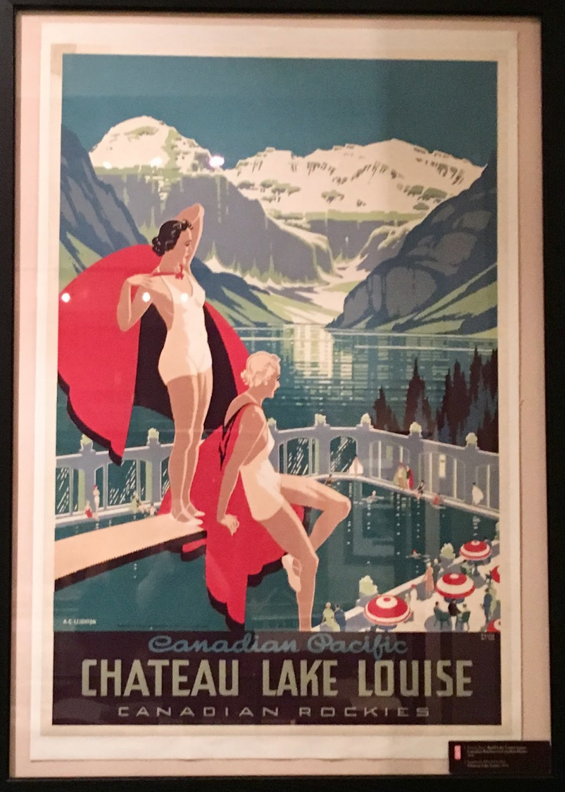 Canadian Pacific Rail Advert for Lake Louise, Peter Ewert